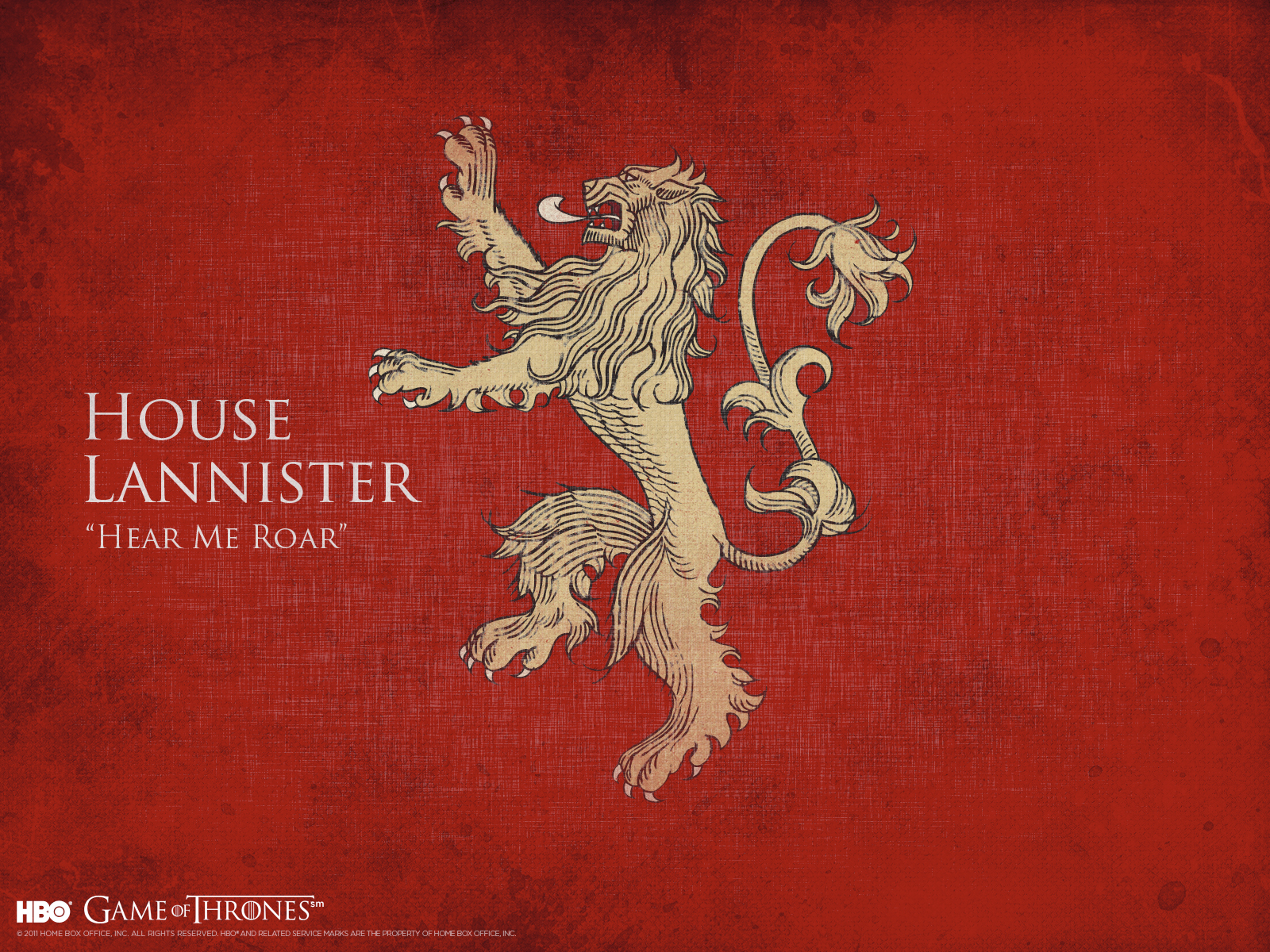 House Lannister - Game of Thrones
