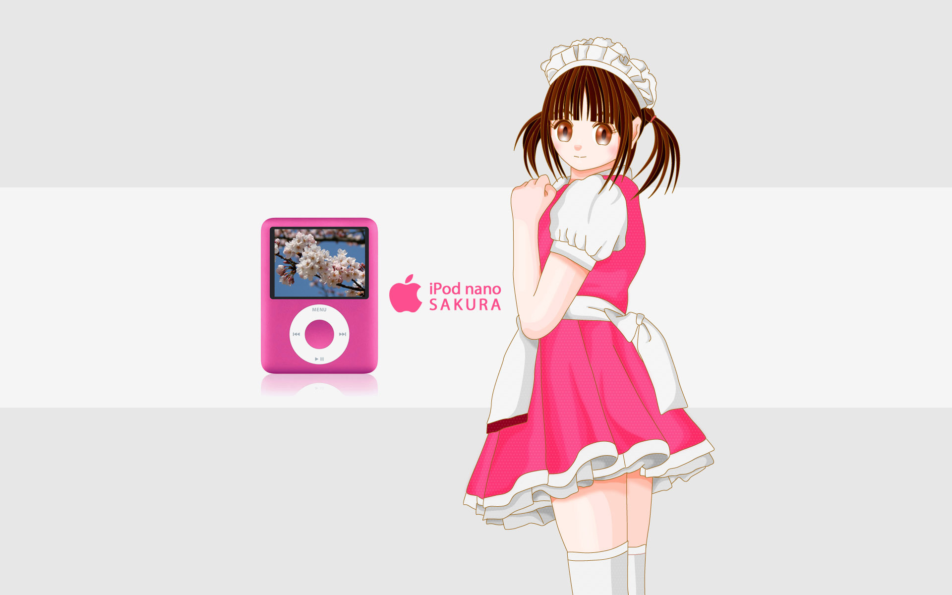 iPod Nano and anime girl