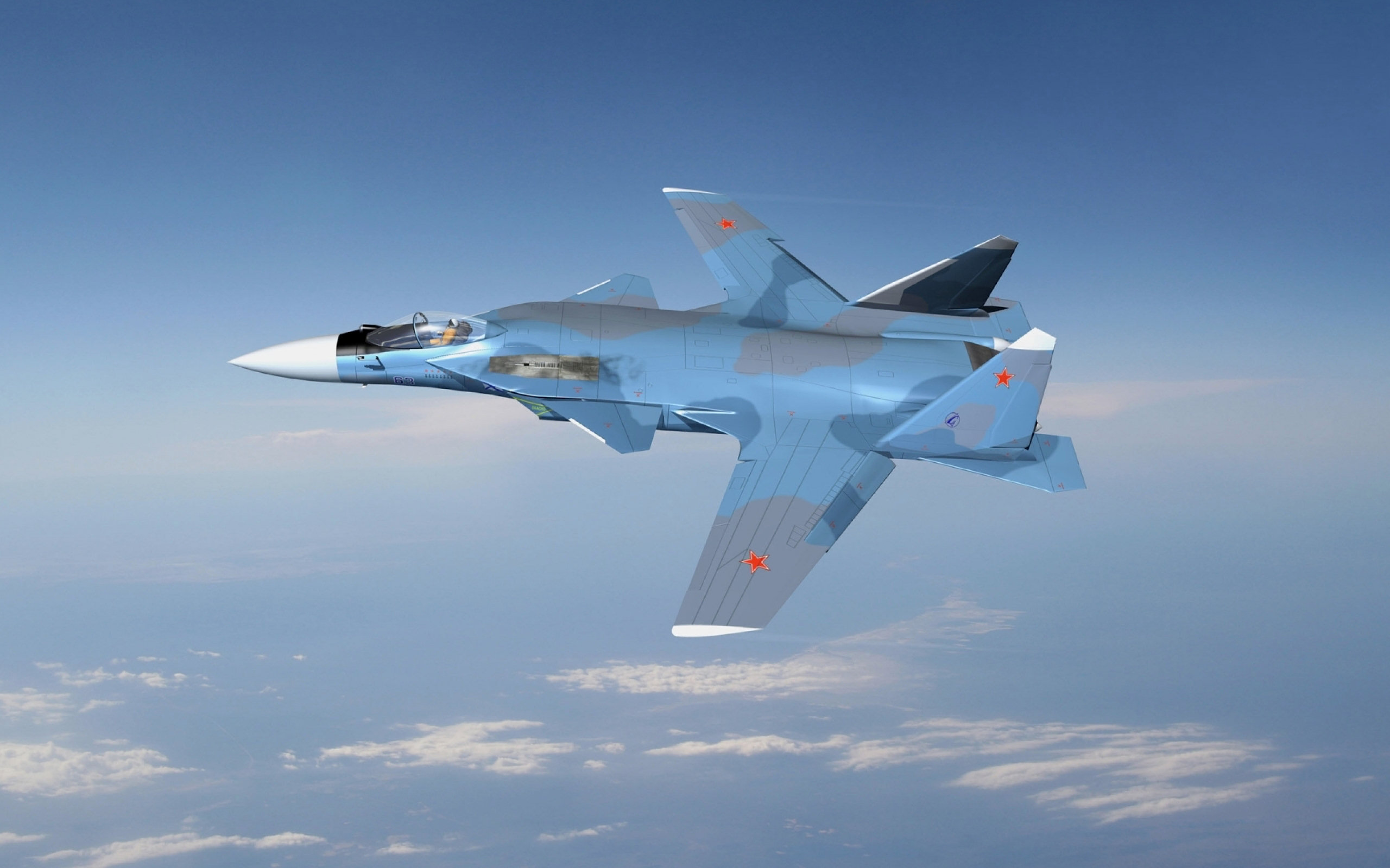 jet fghter russian sukhoi