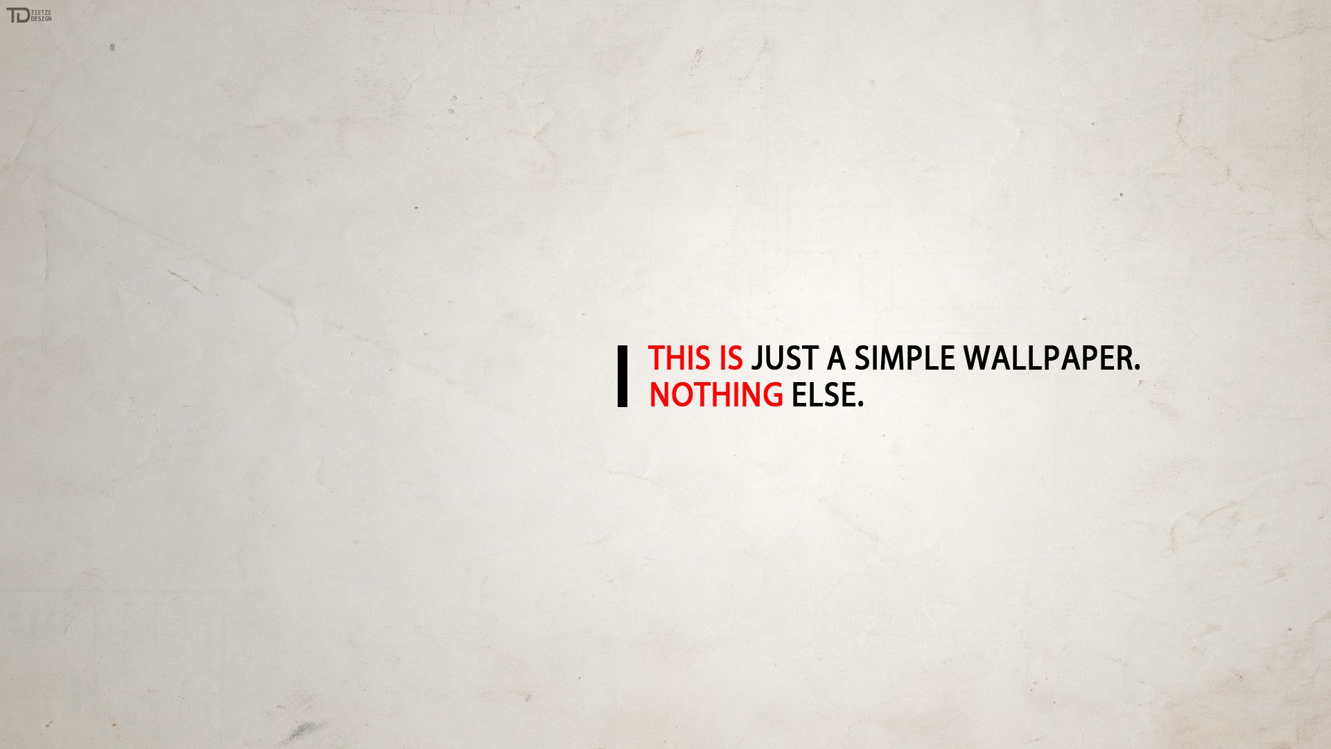 Just simple