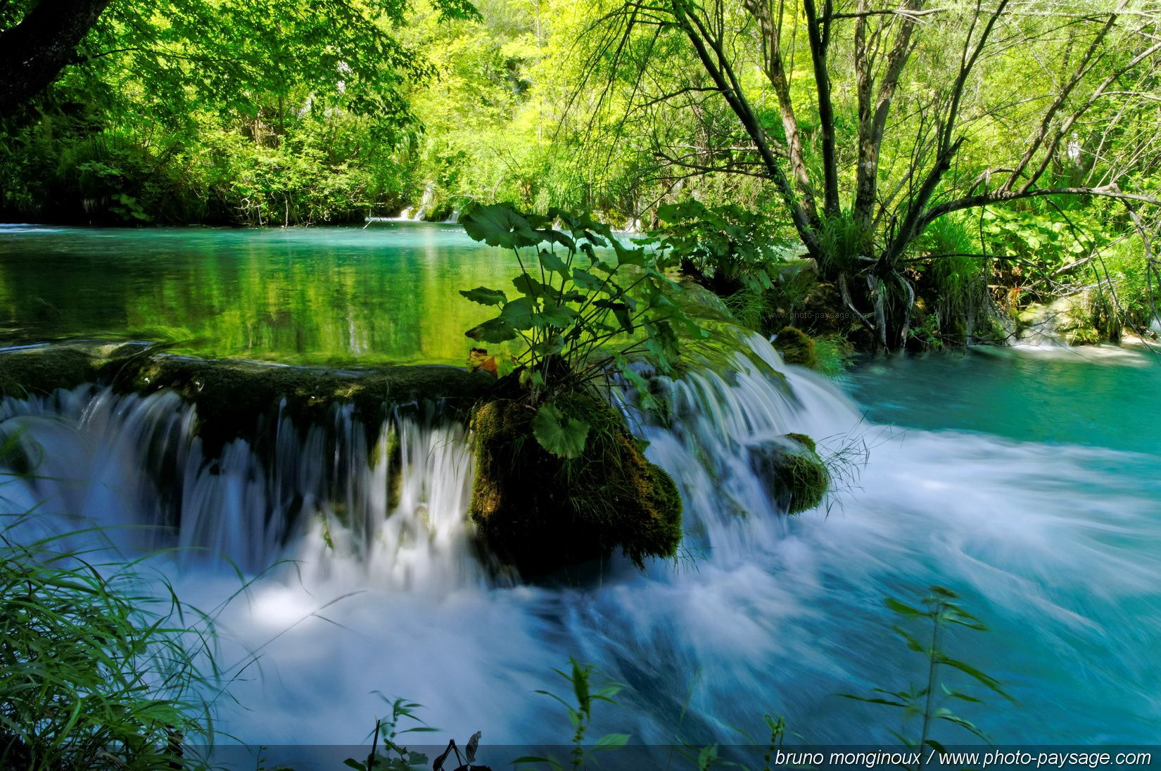 landscapes nature waterfalls rivers