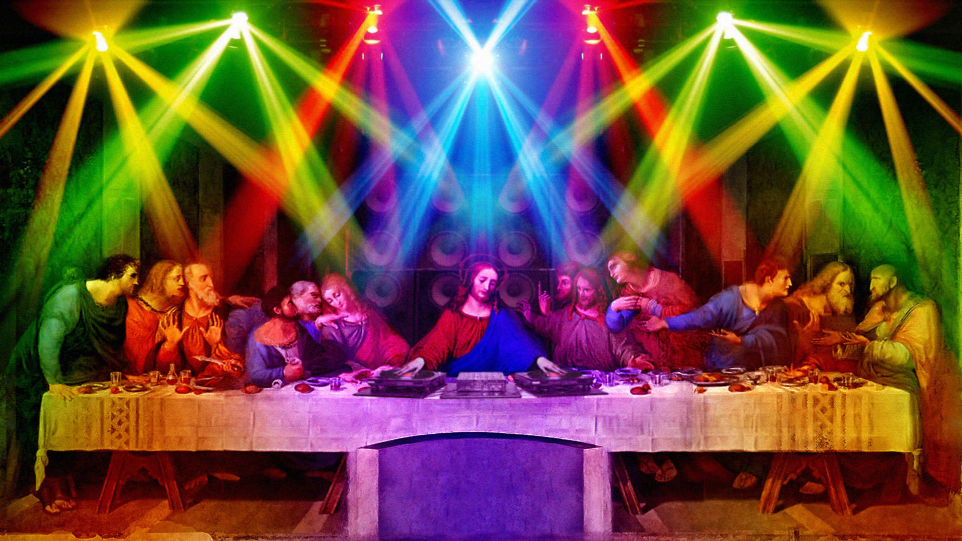 Last supper party