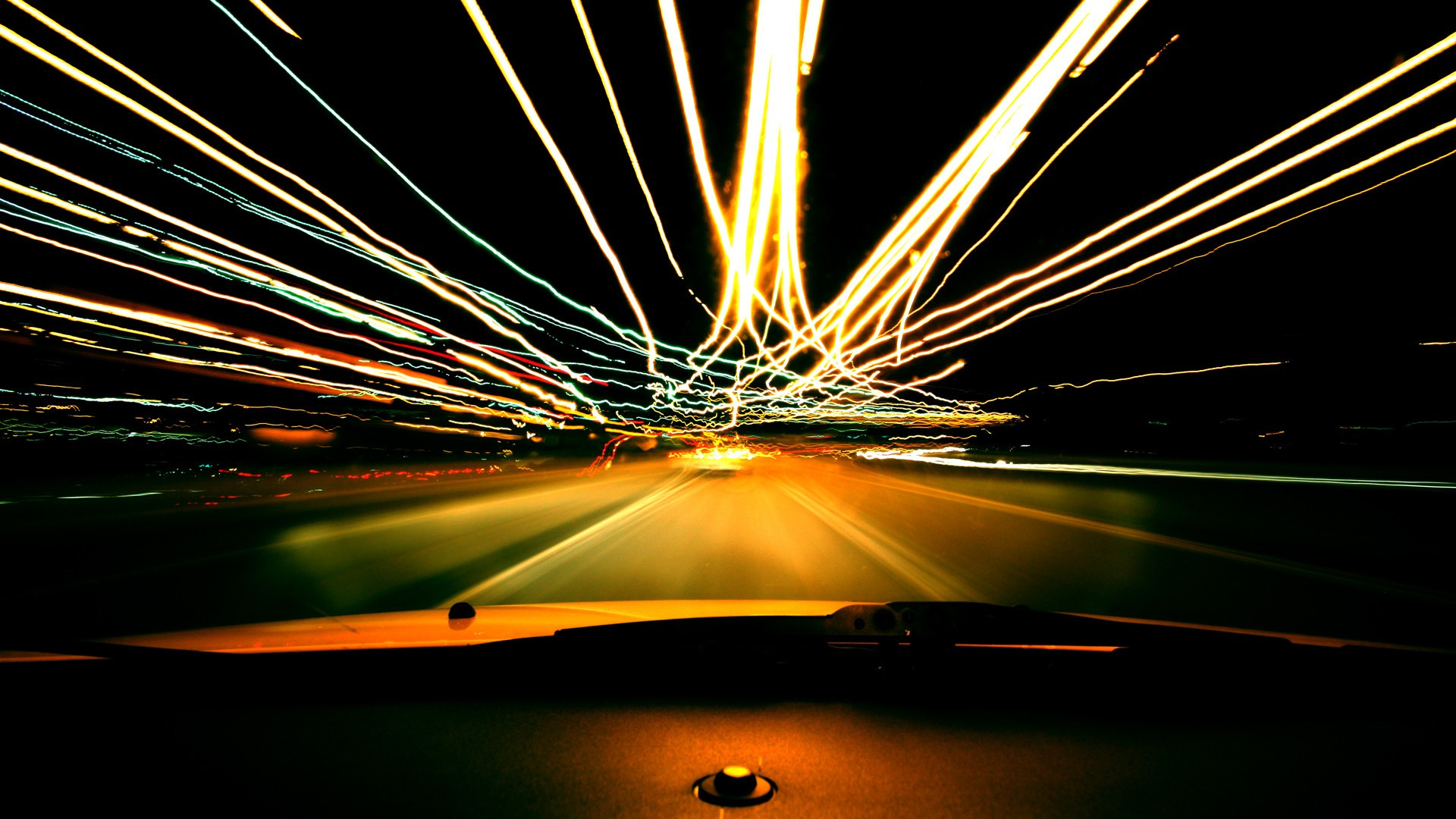 lights roads long exposure nightlights dashboards car interiors colors