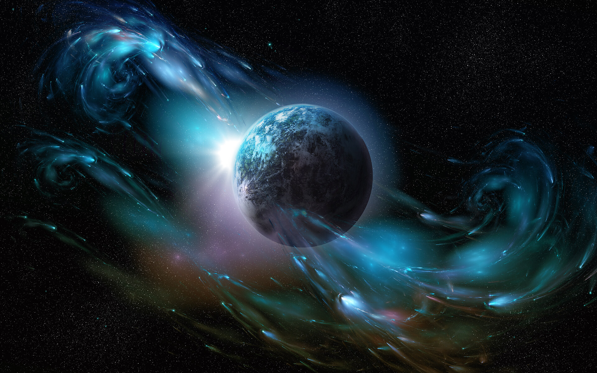 Magnetic Field Planet