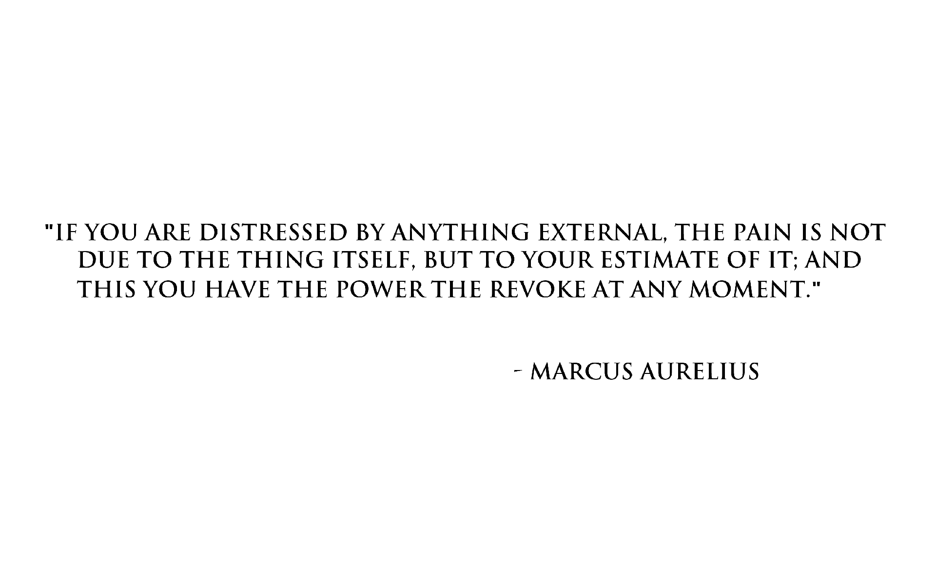 Marcus Aurelius on pain