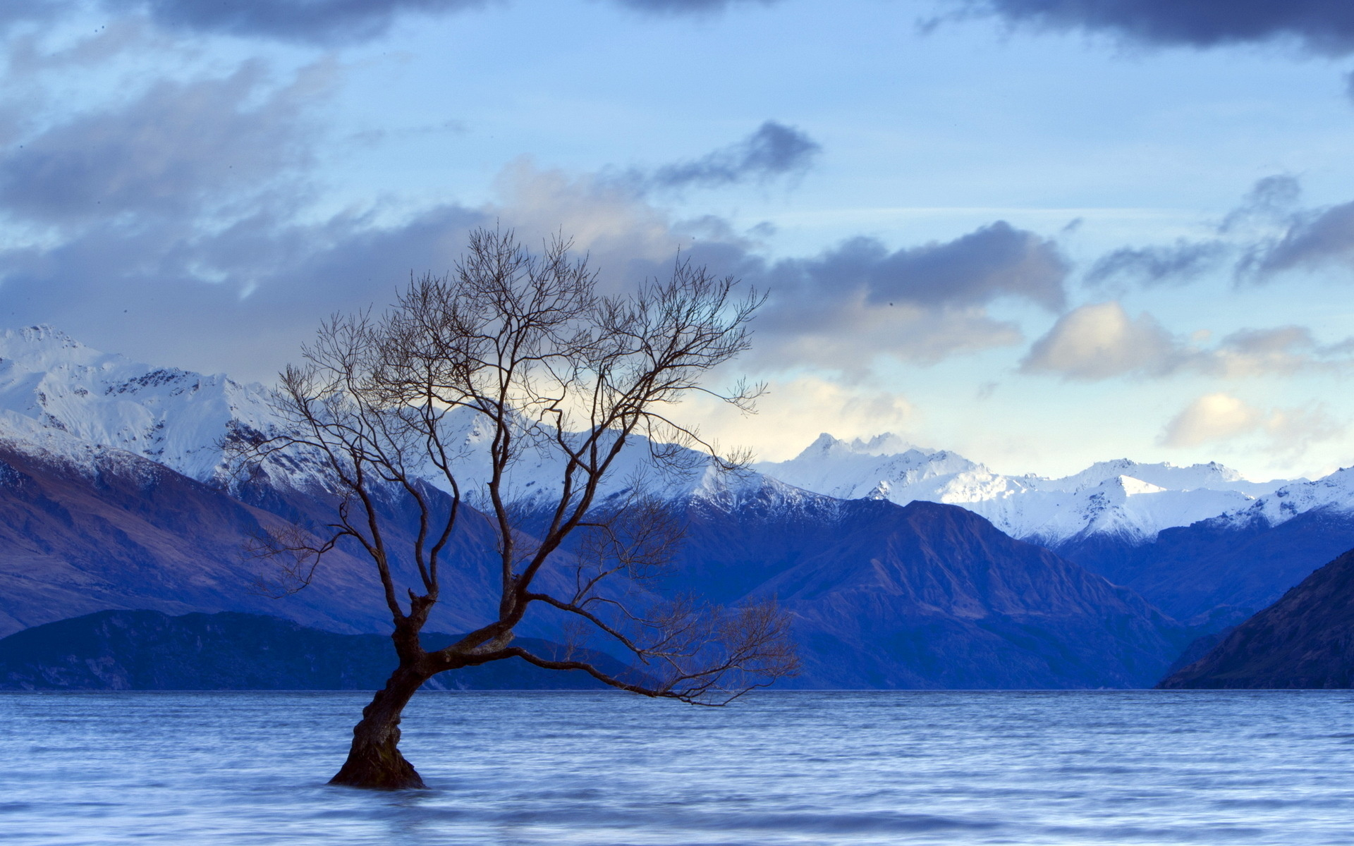 nature landscapes lakes water trees alone flood rivers mountains snow sky clouds sunset sunrise forest scenic view