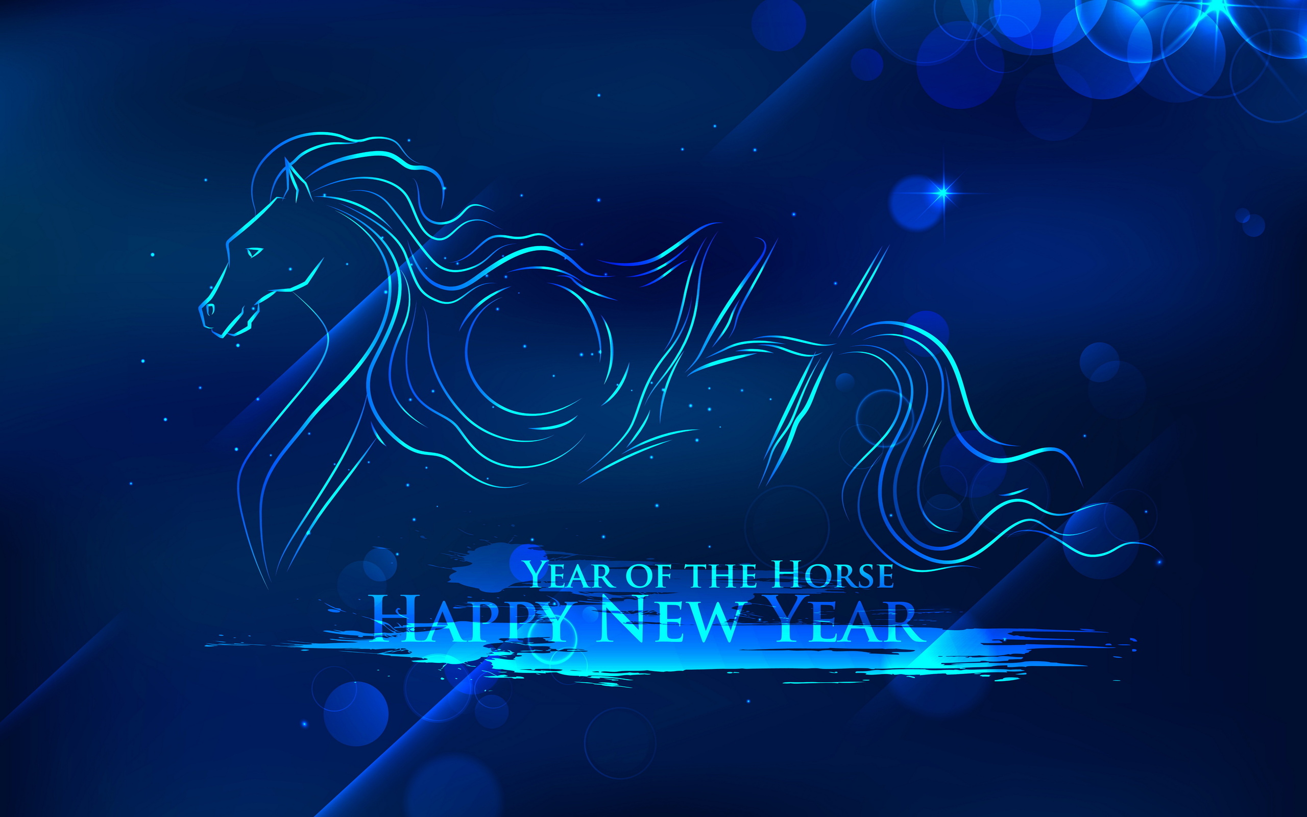 new year 2014 year of the horse     hf