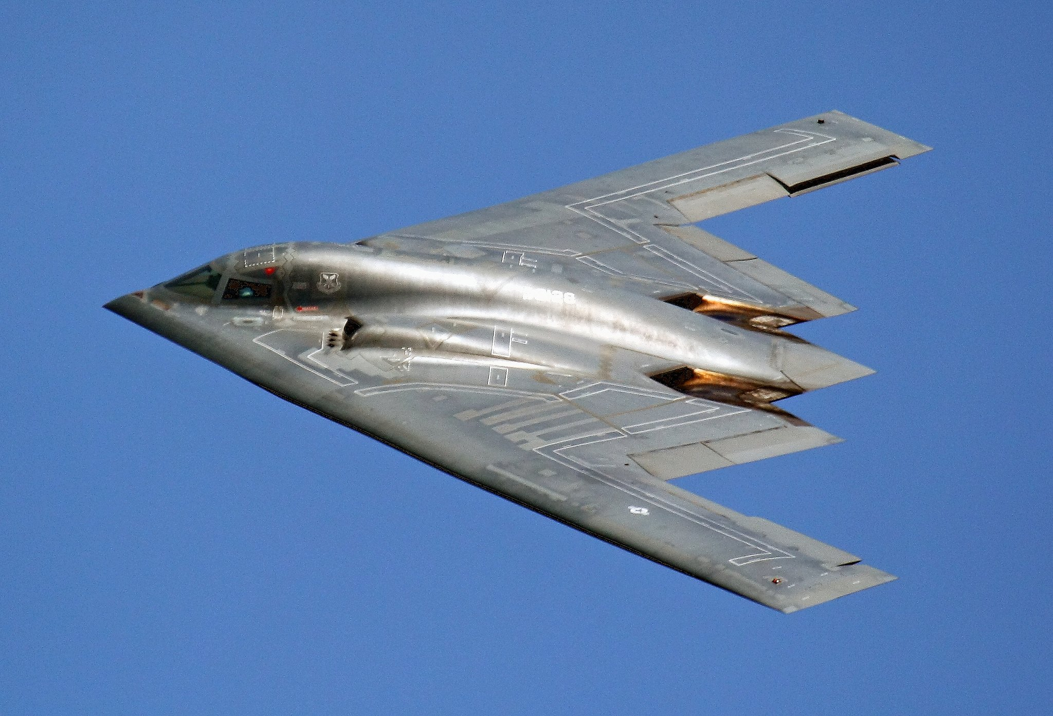 Northrop B-2 Stealth Bomber aircrafts