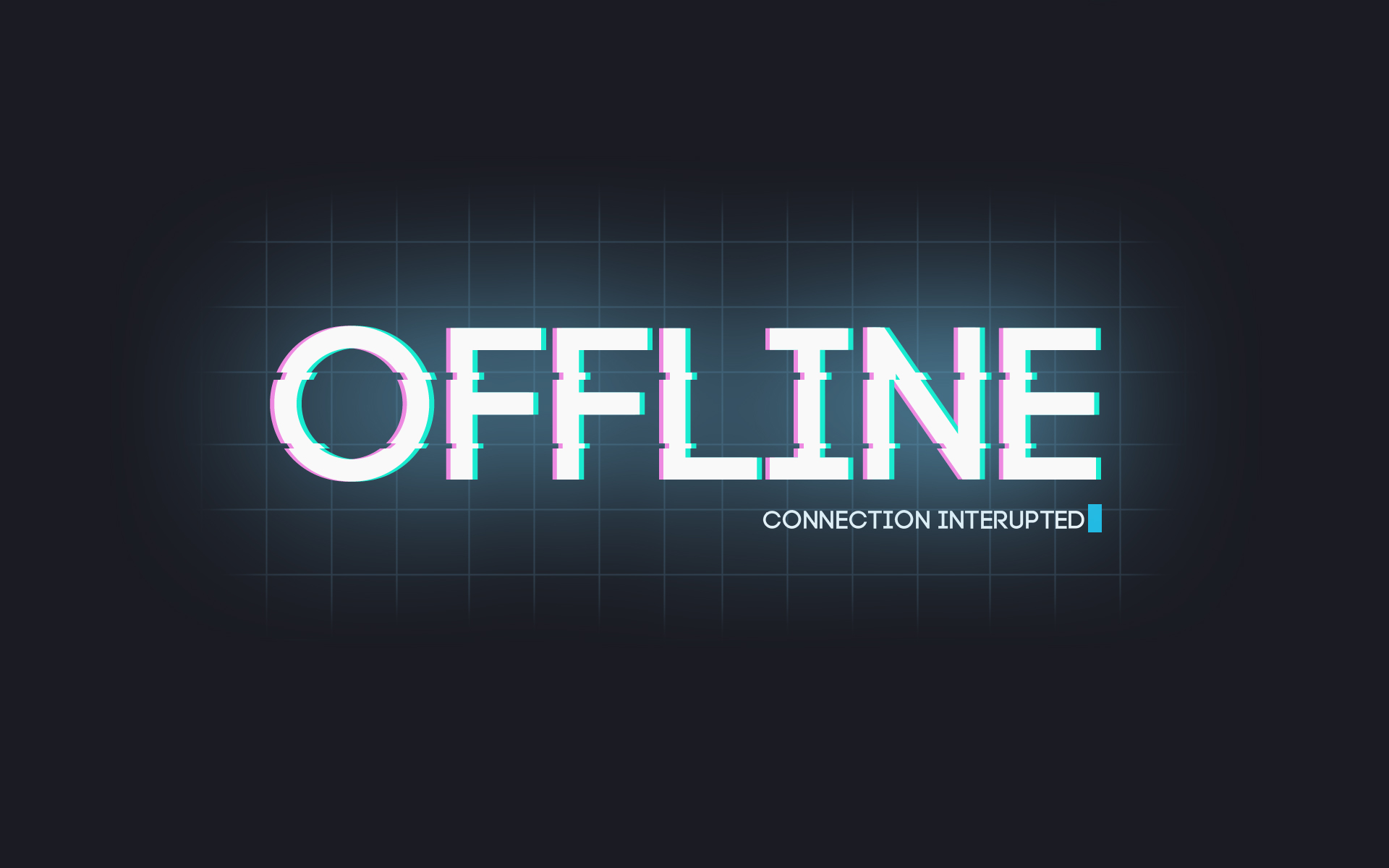 Offline connection interupted