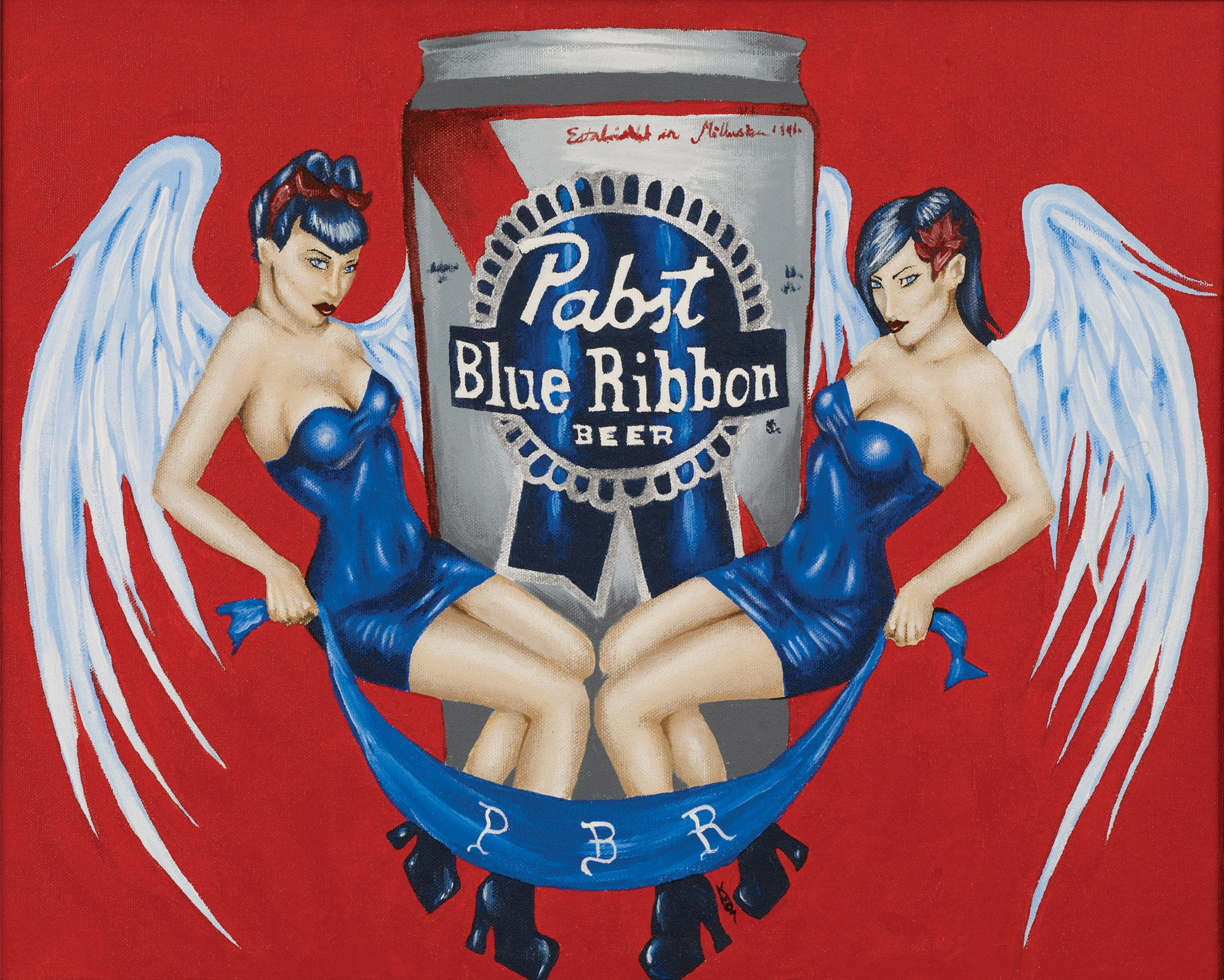 PABST BLUE RIBBON BEER alcohol (15)