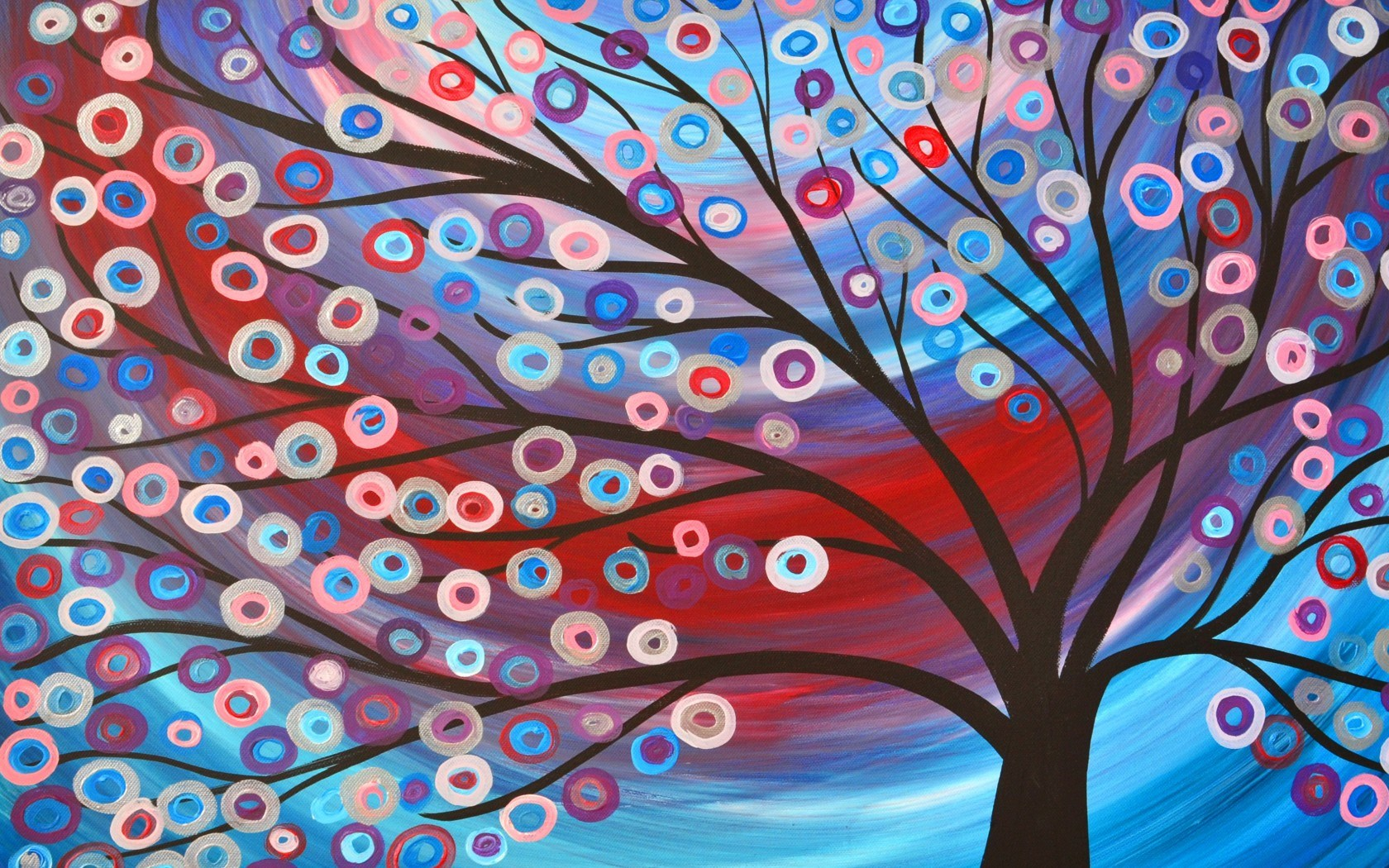 Painting Drawing Abstract Tree