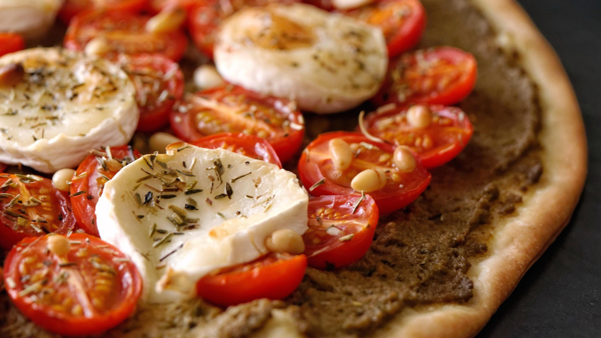 pizzas queso tomate