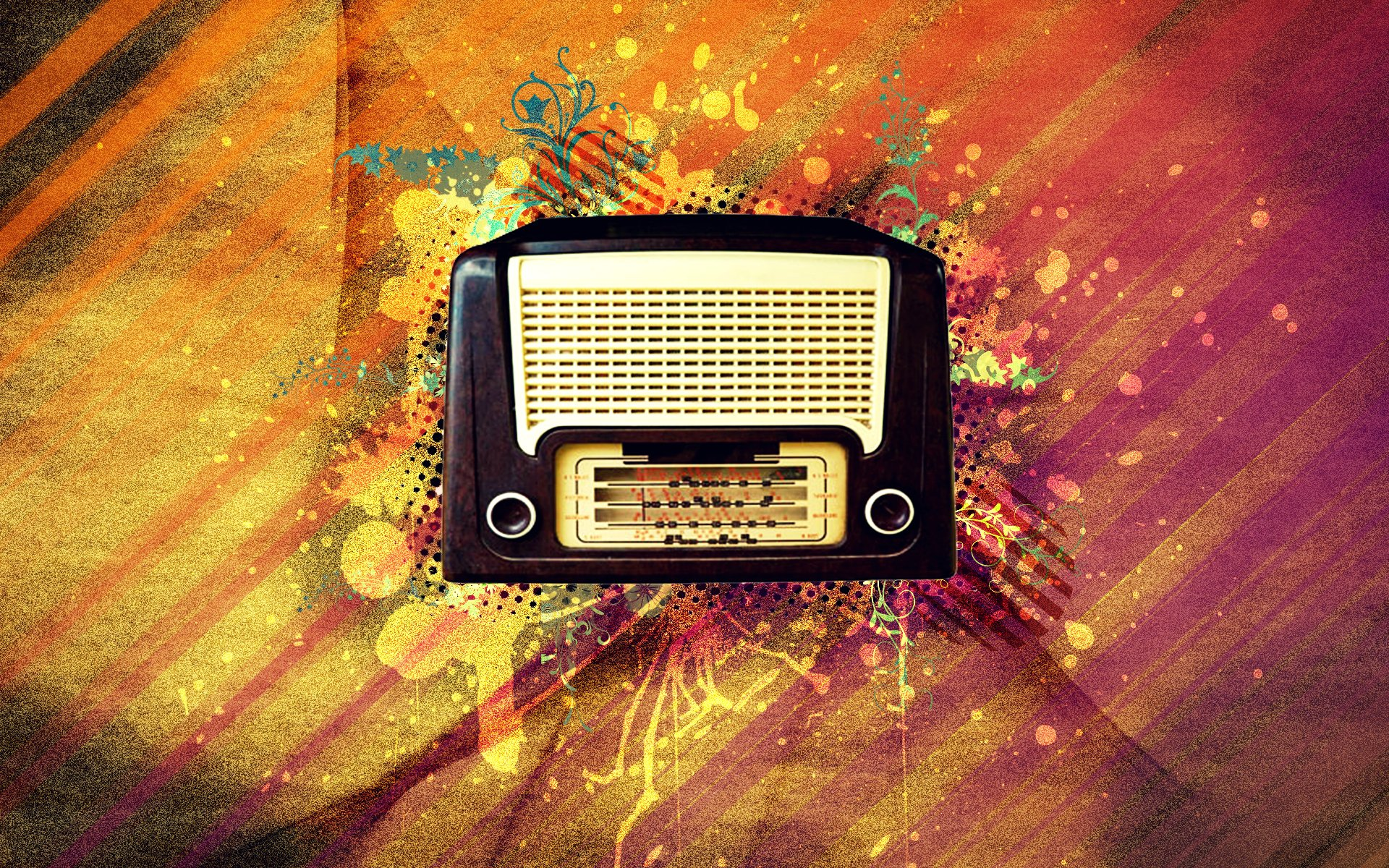 radio stereo electronic