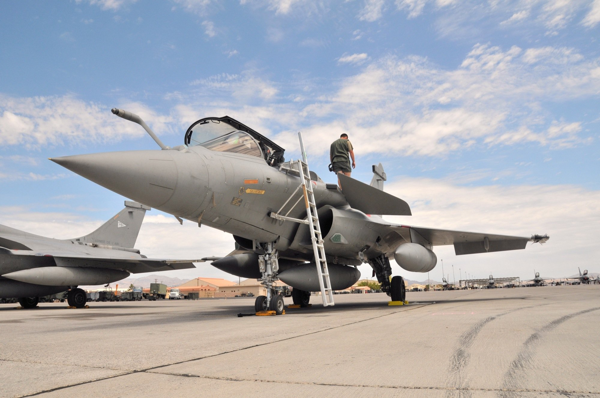 Rafale Fighter Jet military airplane plane fighter (3)
