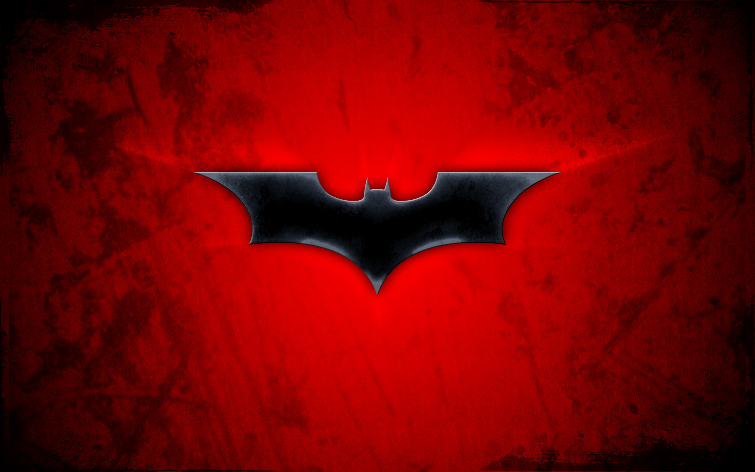 Red Batman Logo