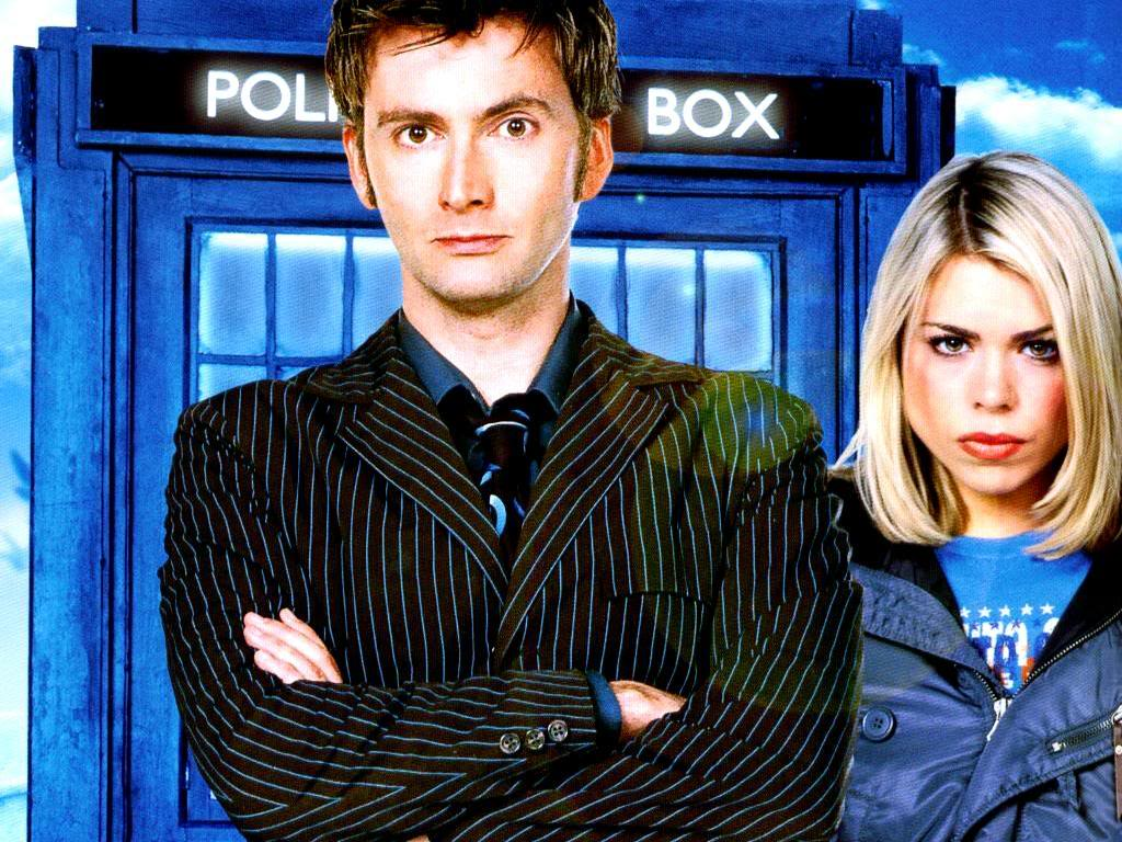 Rose Tyler TARDIS David Tennant Billie Piper Doctor Who Tenth Doctor