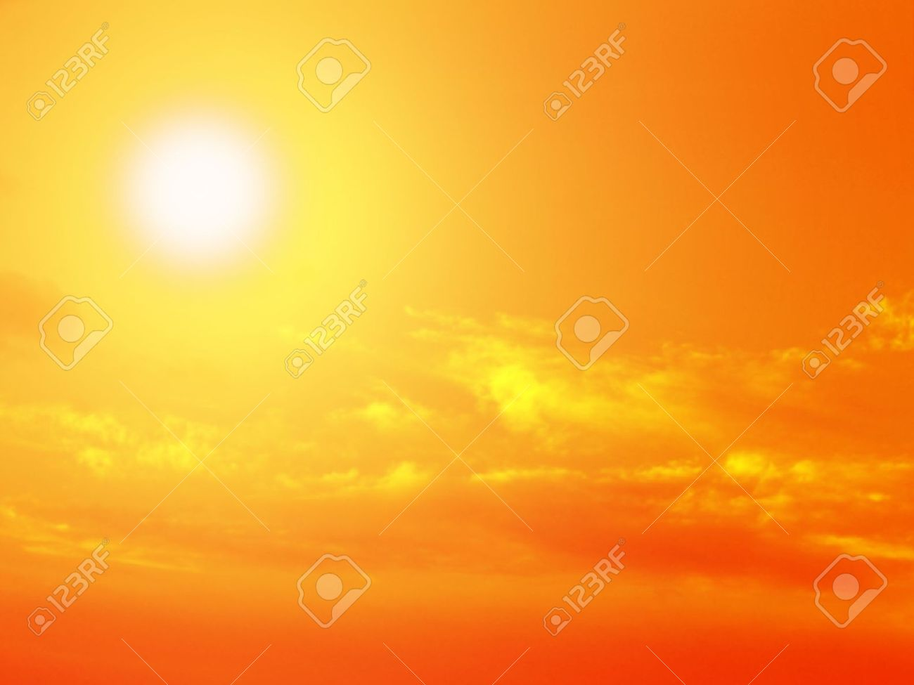 sky nature blue sun sunset orange clouds sunrise colors