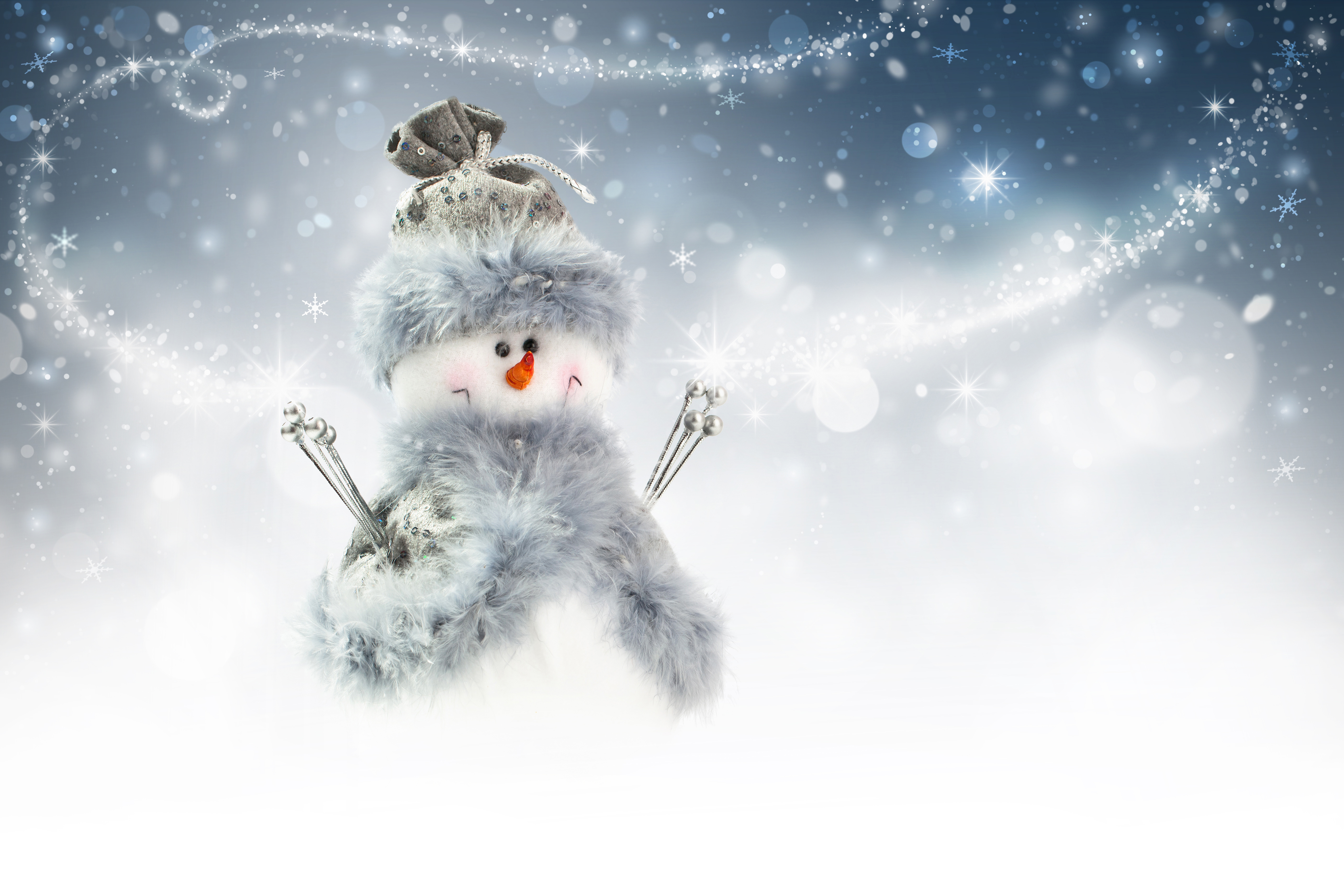 snow winter christmas new year snowman