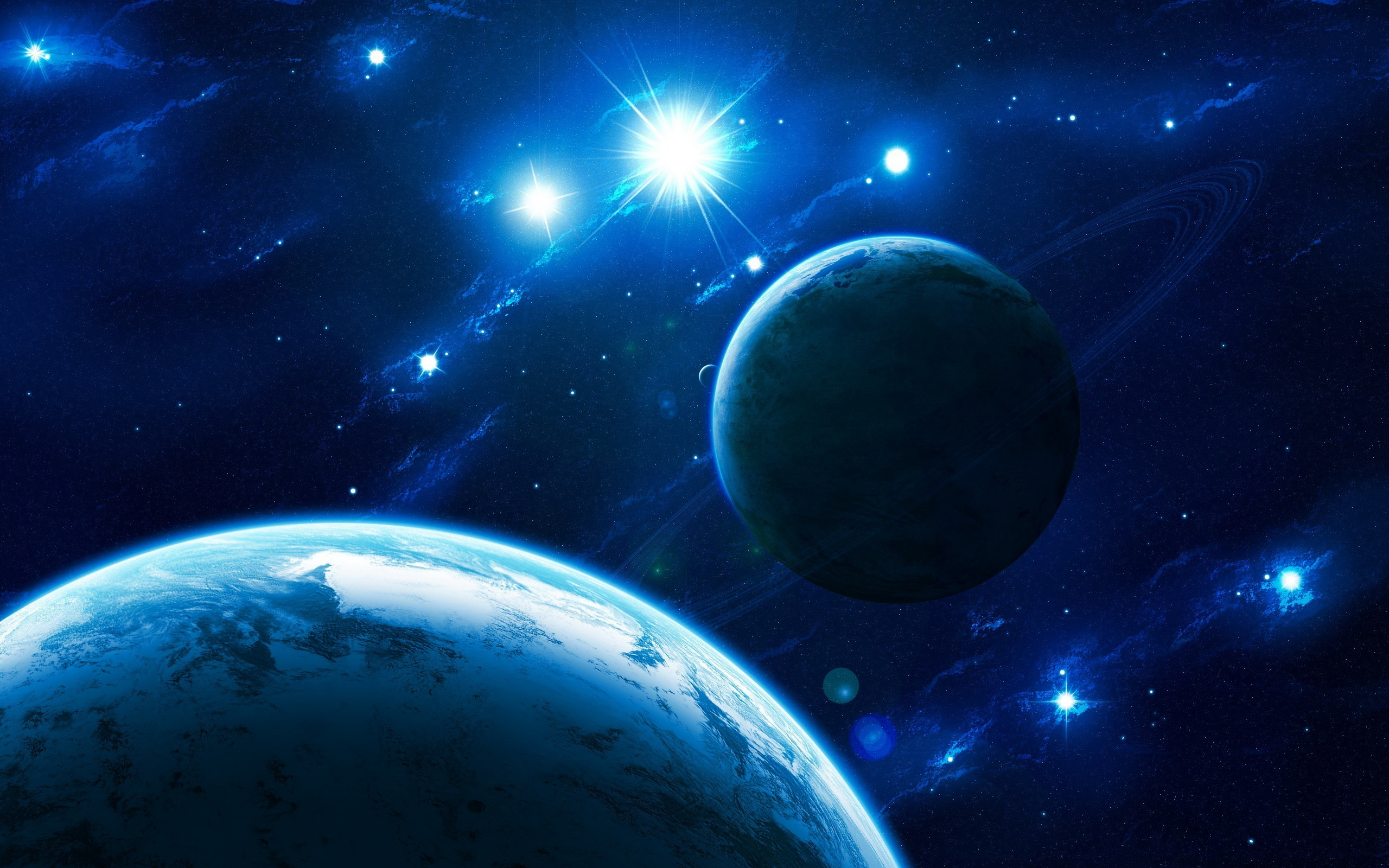 Space star system