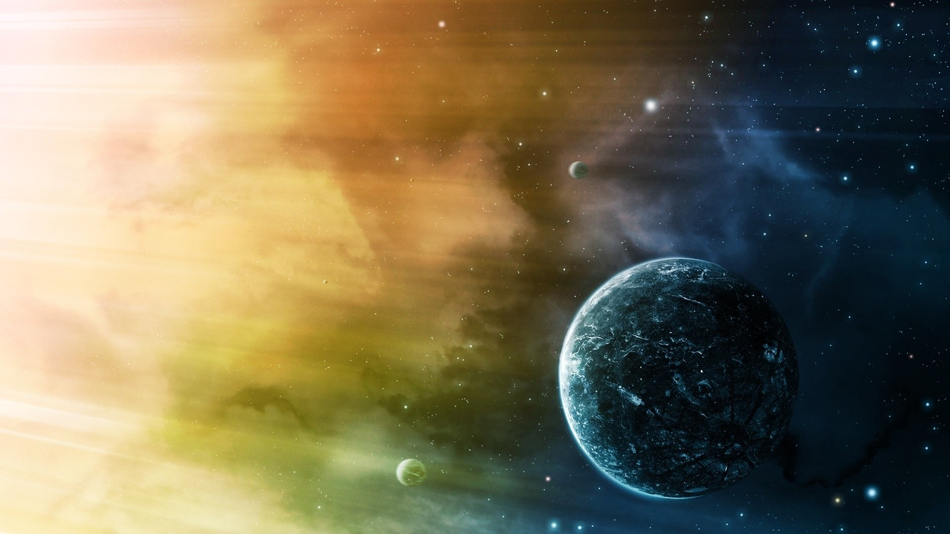 space universe galaxy cosmos astronomy planet star colors colorful sky nature planets stars galaxies