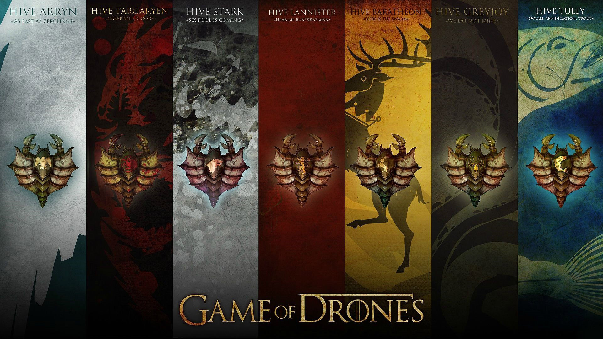 StarCraft Game of Thrones crossover