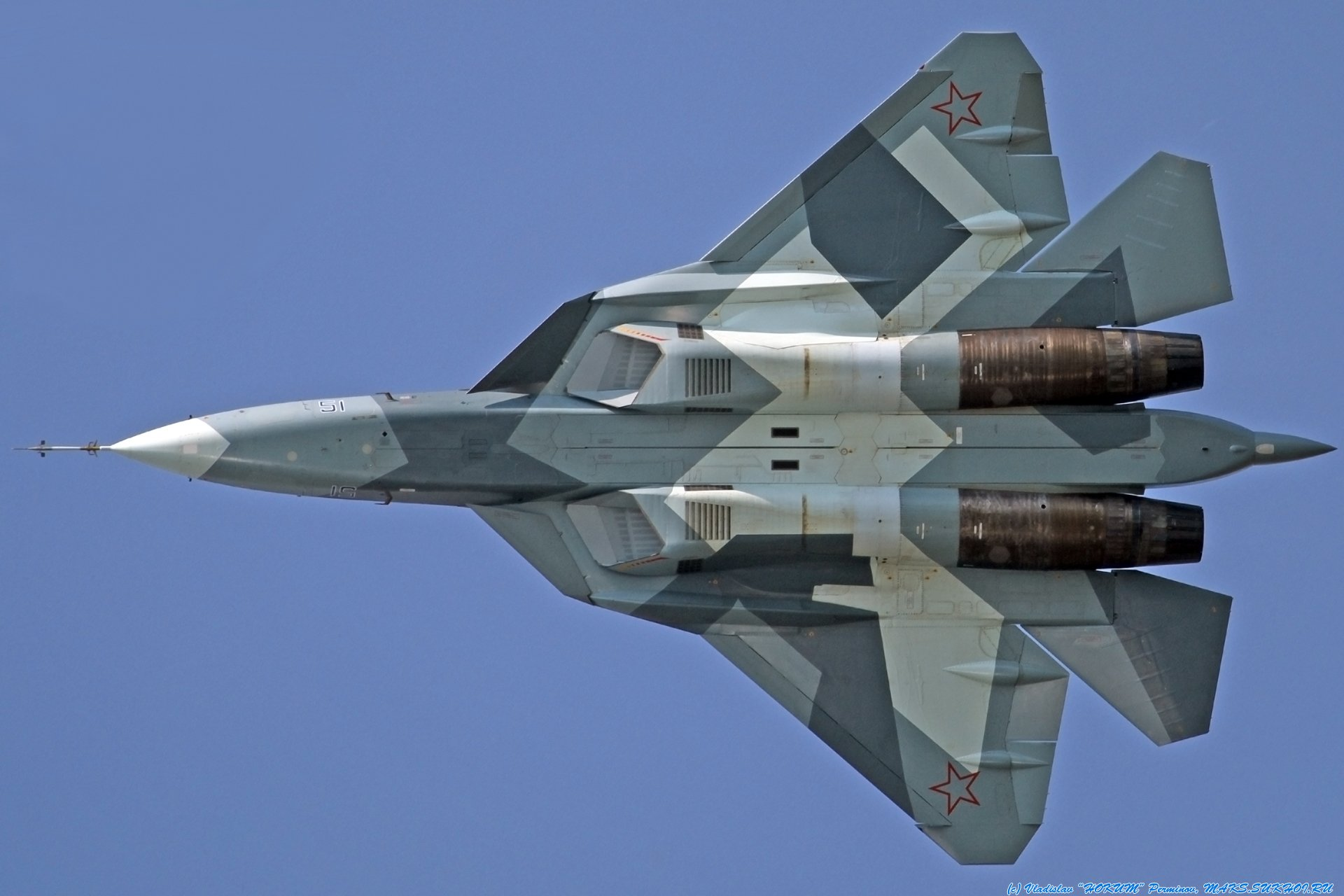 Sukhoi T-50 Fighter Jet military airplane plane stealth pak f-a russian (11)