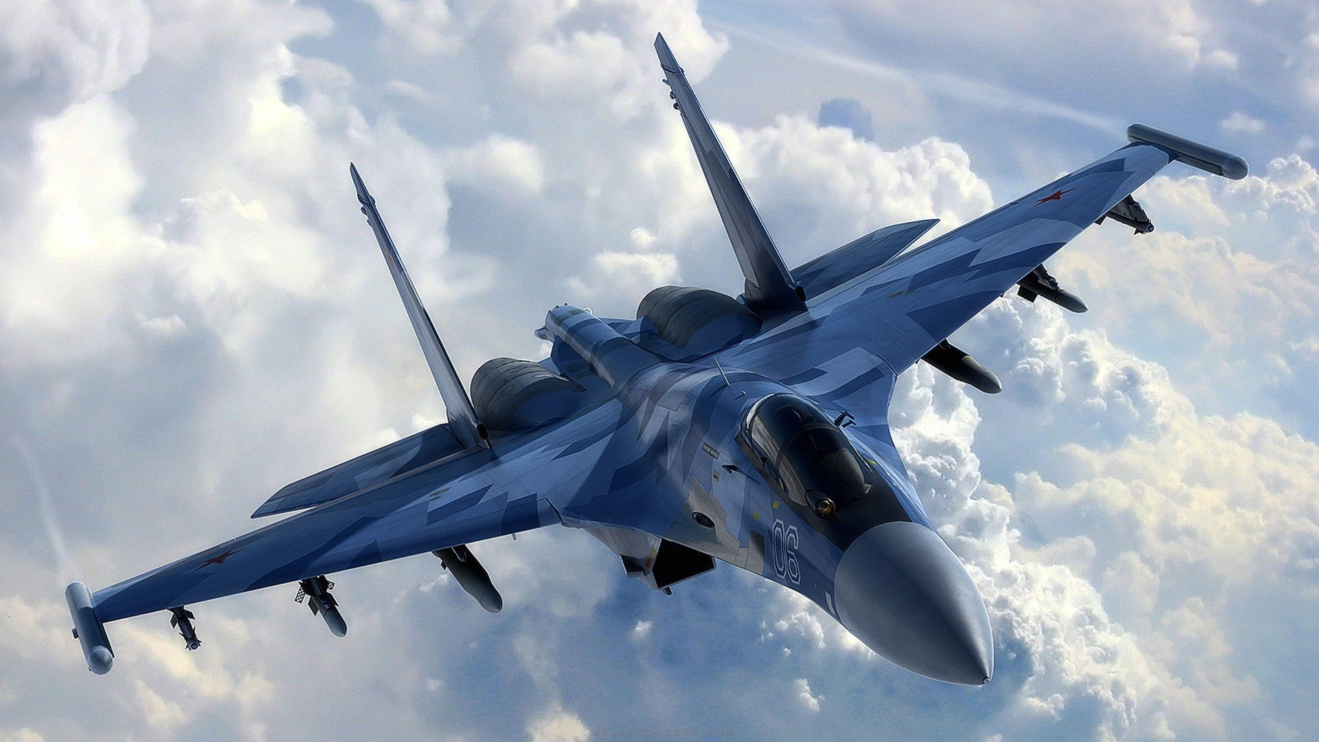 Sukhoi T-50 Fighter Jet military airplane plane stealth pak f-a russian (26)
