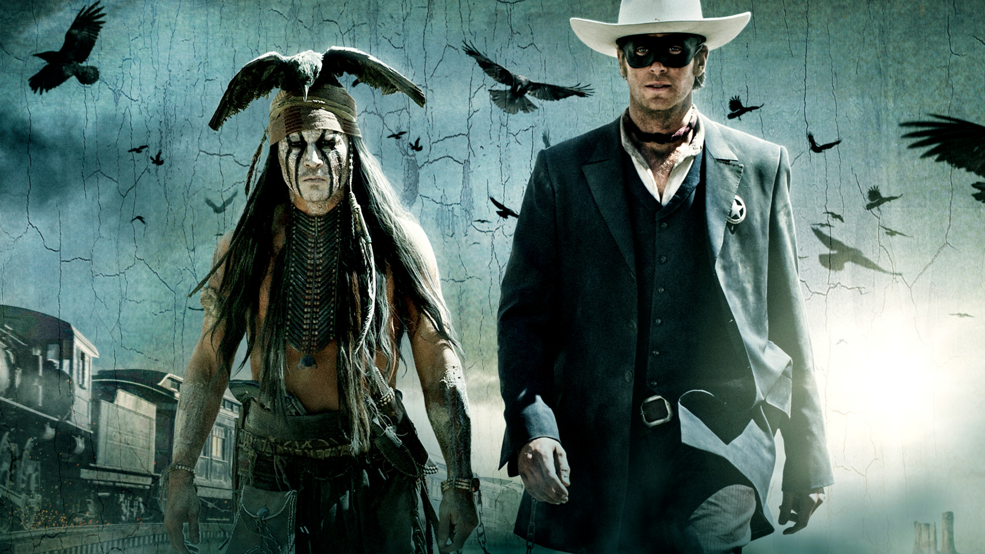 THE LONE RANGER western   d
