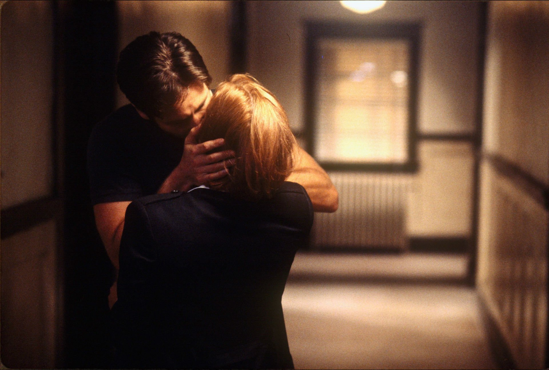 THE X-FILES sci-fi mystery drama television files series mood kiss