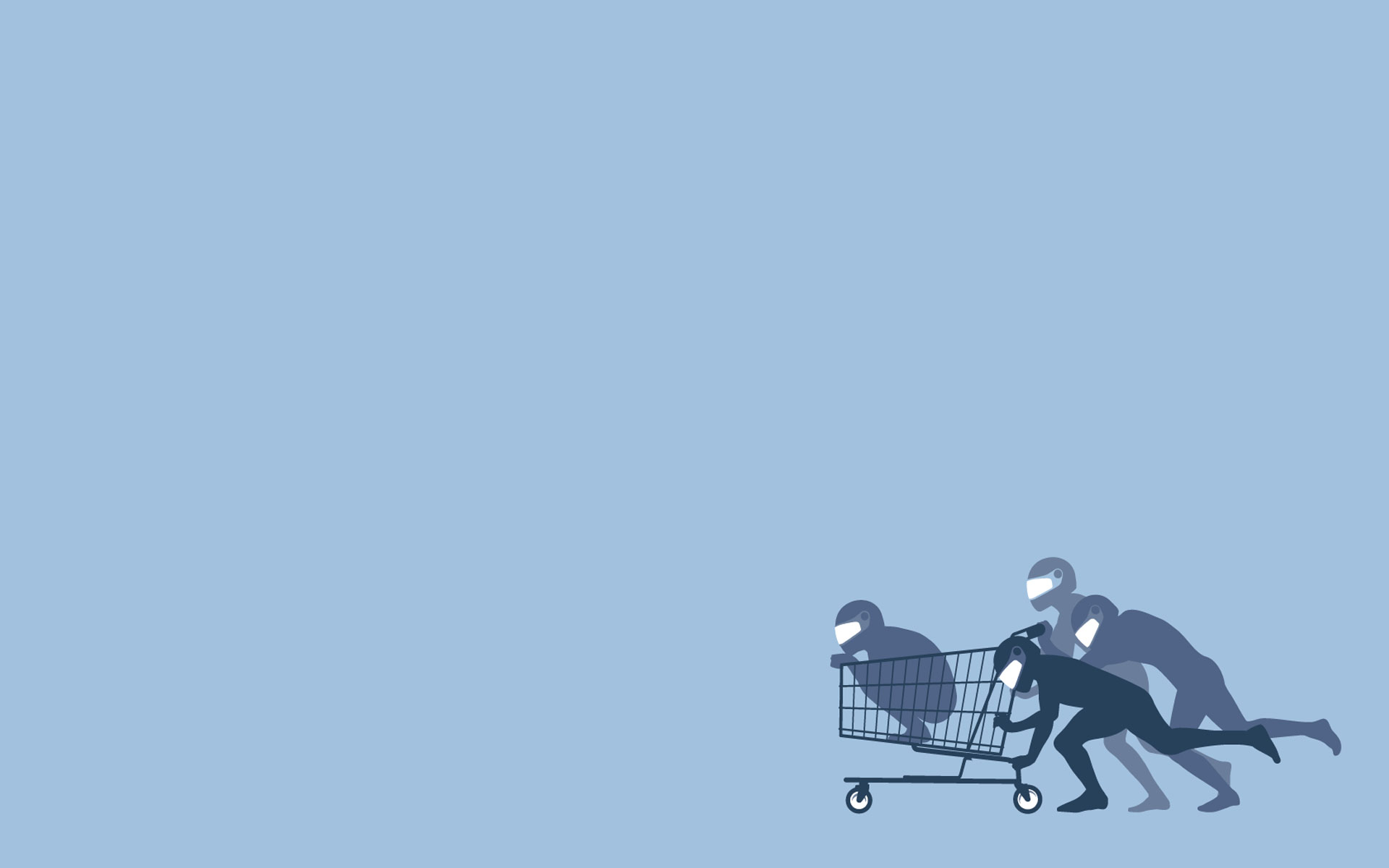 Threadless cart fun art