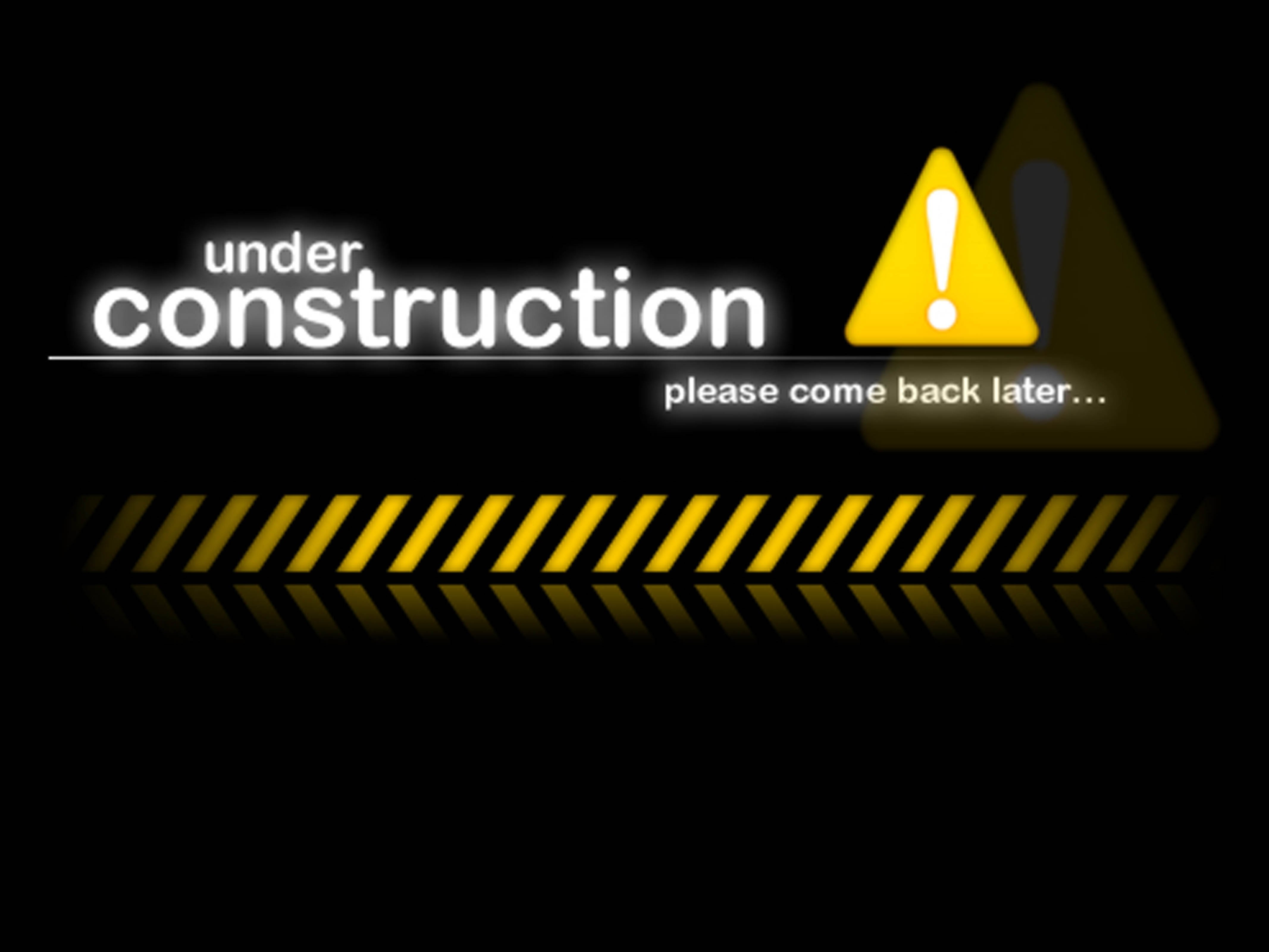 under construction sign work computer humor funny text maintenance wallpaper website web