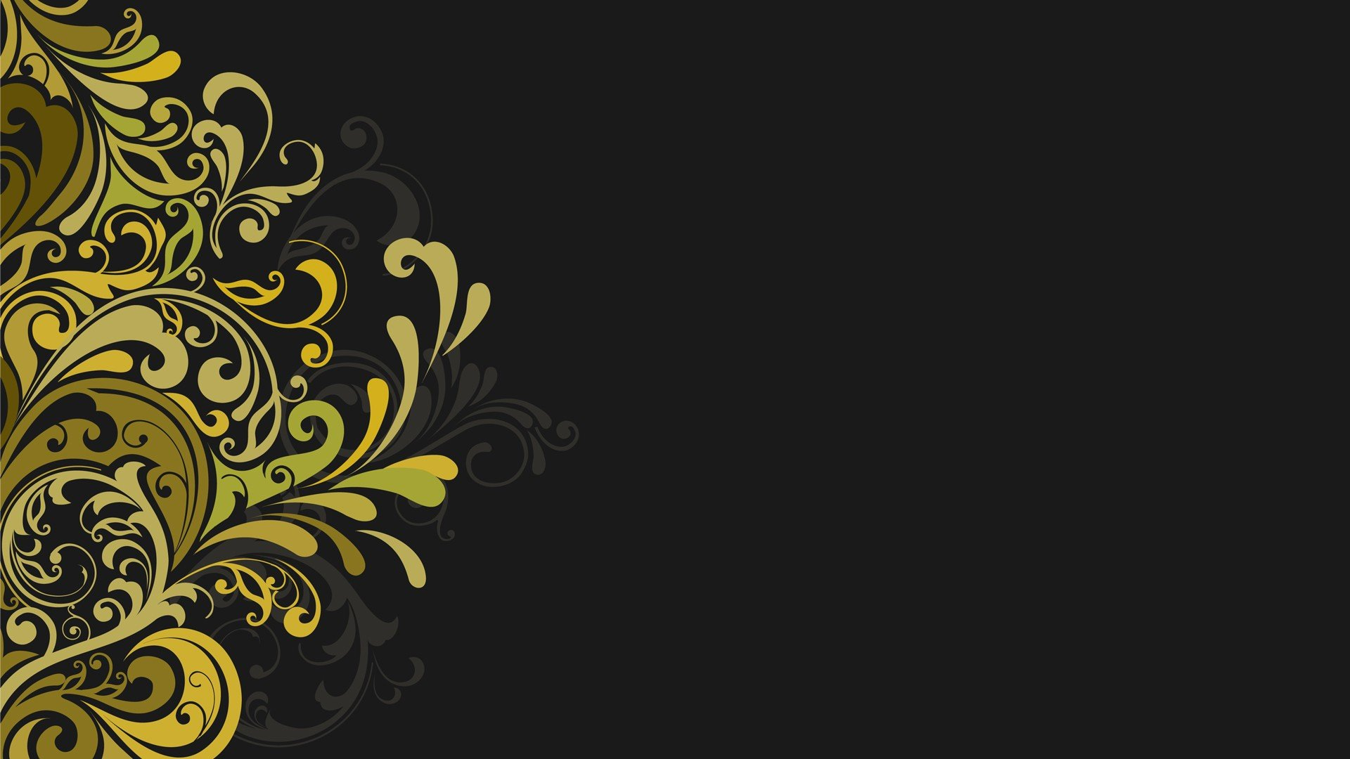 vectors floral graphics grey background