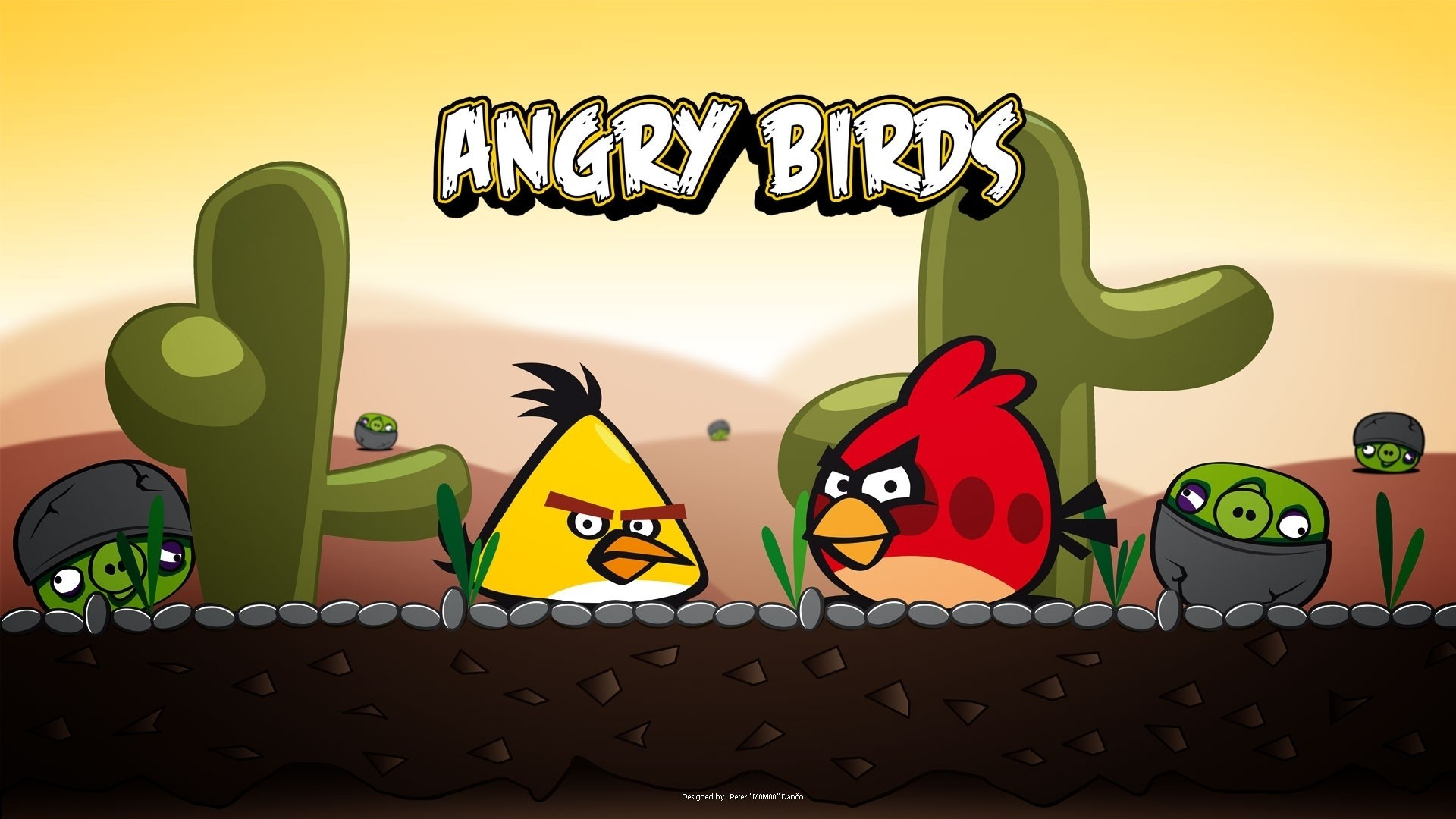 Video Game Angry Birds