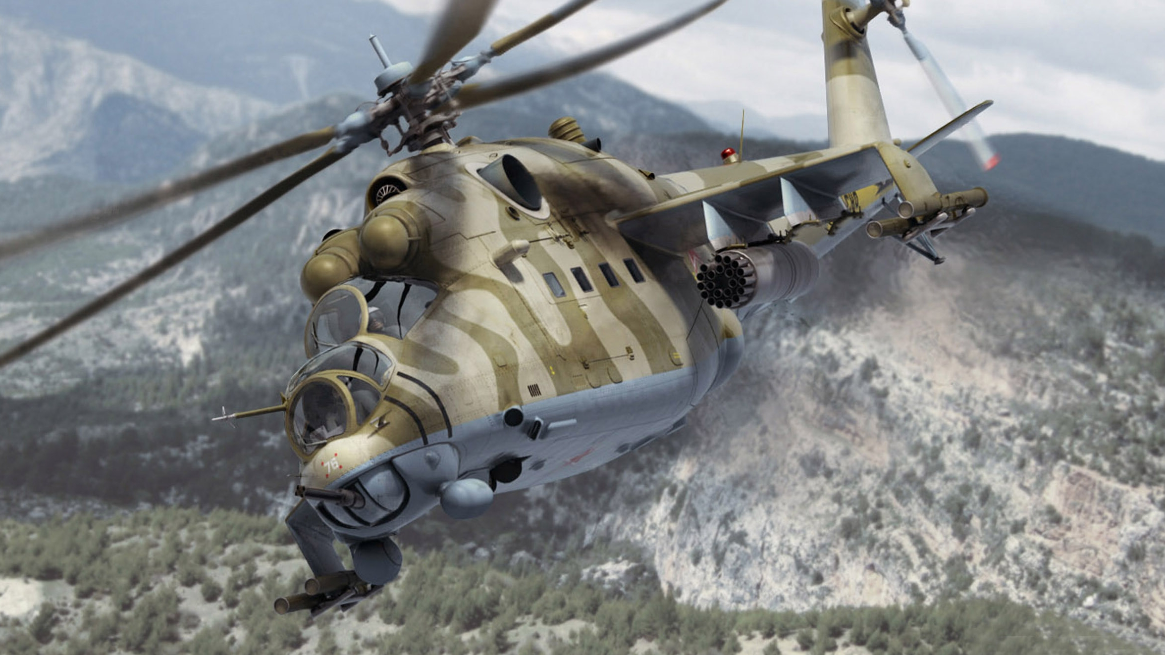 video games aircraft helicopters hind vehicles Mi-24