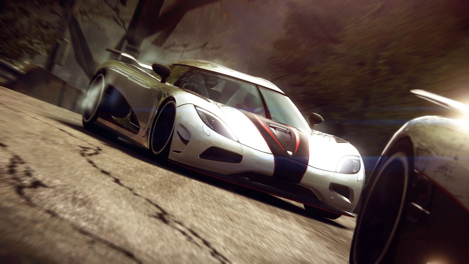 video games cars Koenigsegg Agera R Grid 2