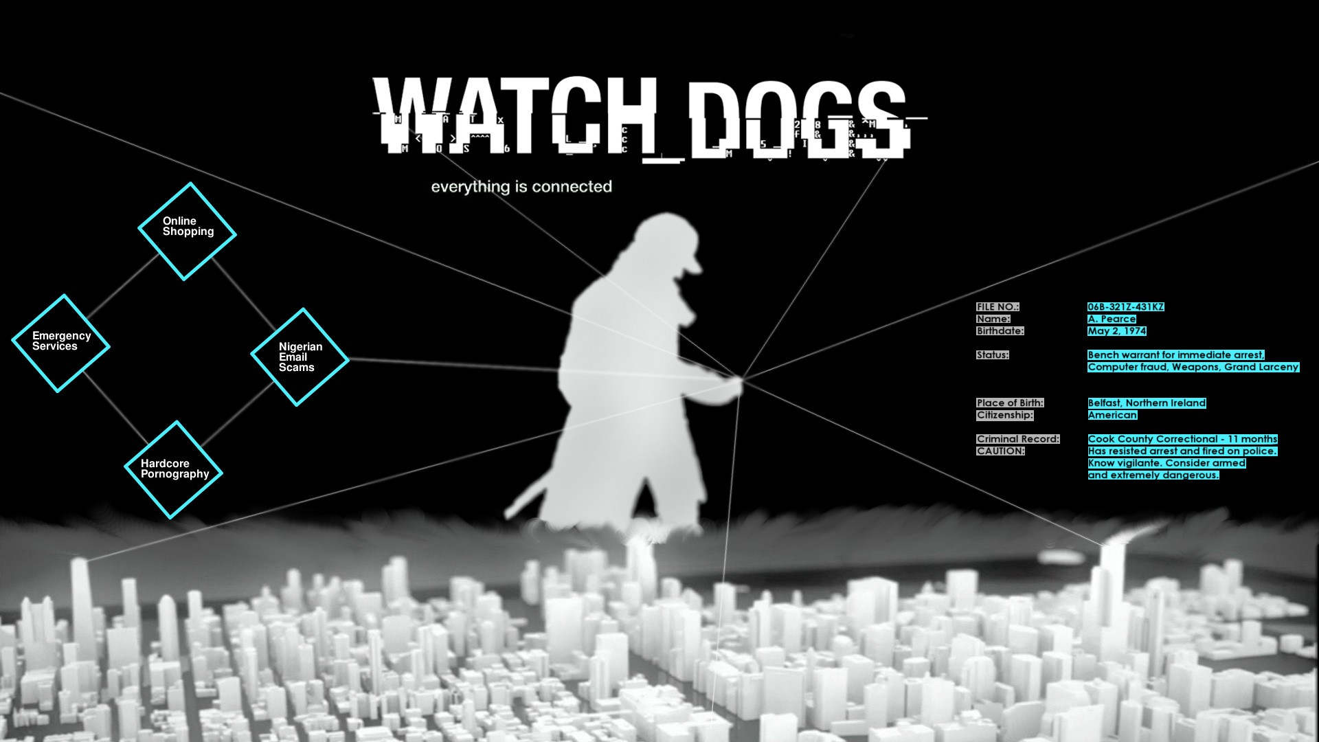 video games Chicago Ubisoft Watch Dogs phone
