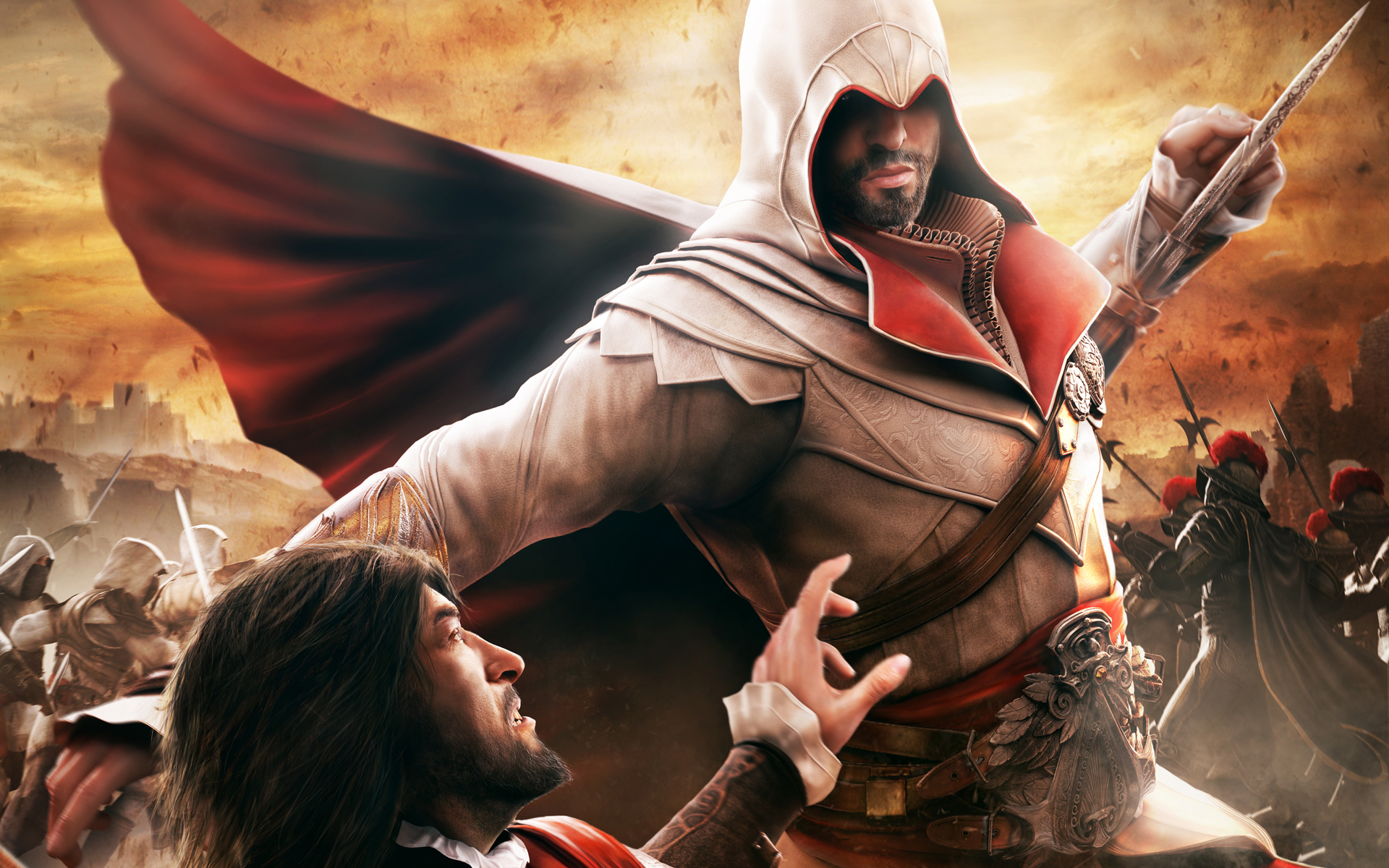video games Ezio Assassins Creed Brotherhood