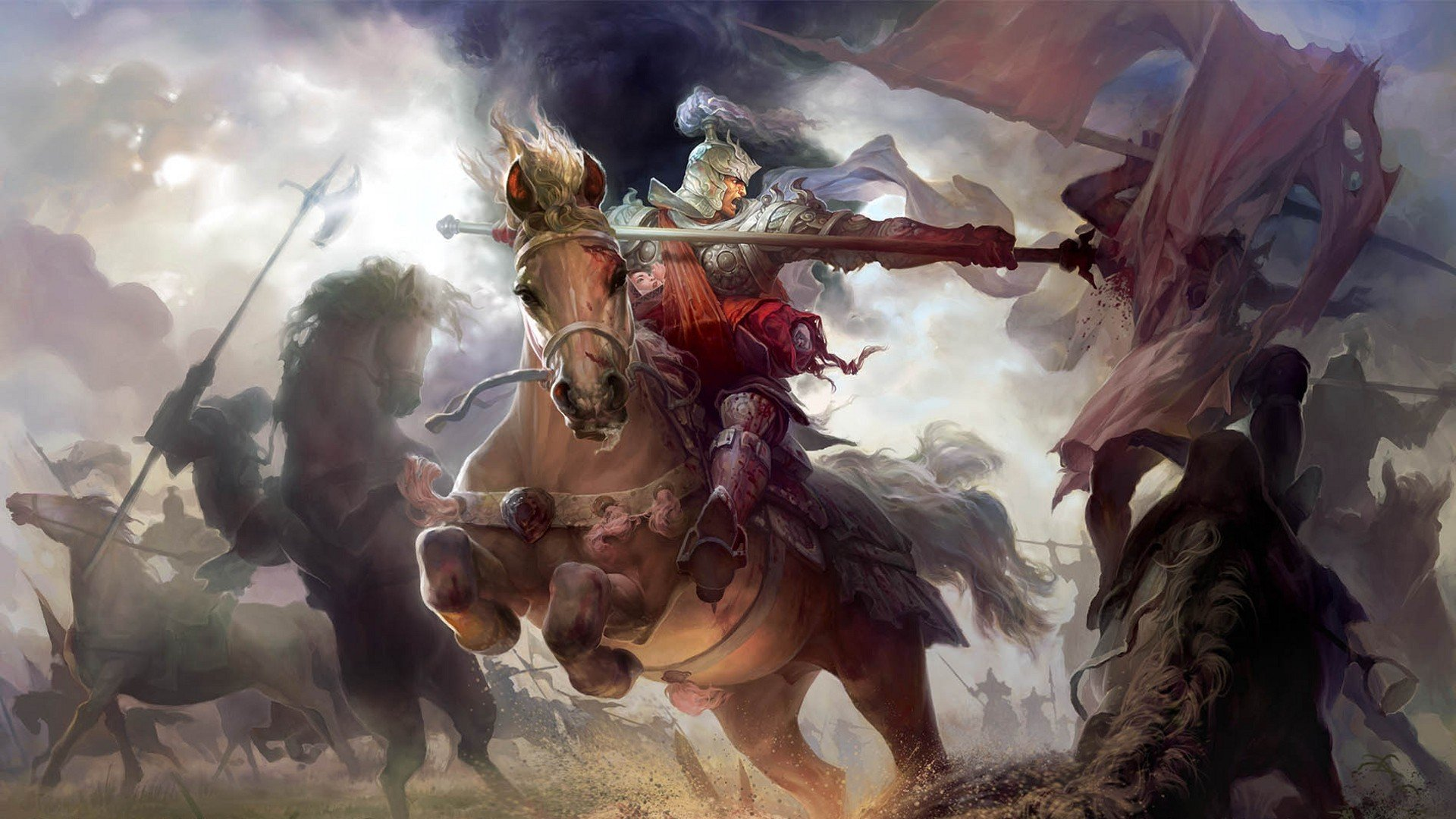 video games fantasy art Heroes of Might and Magic