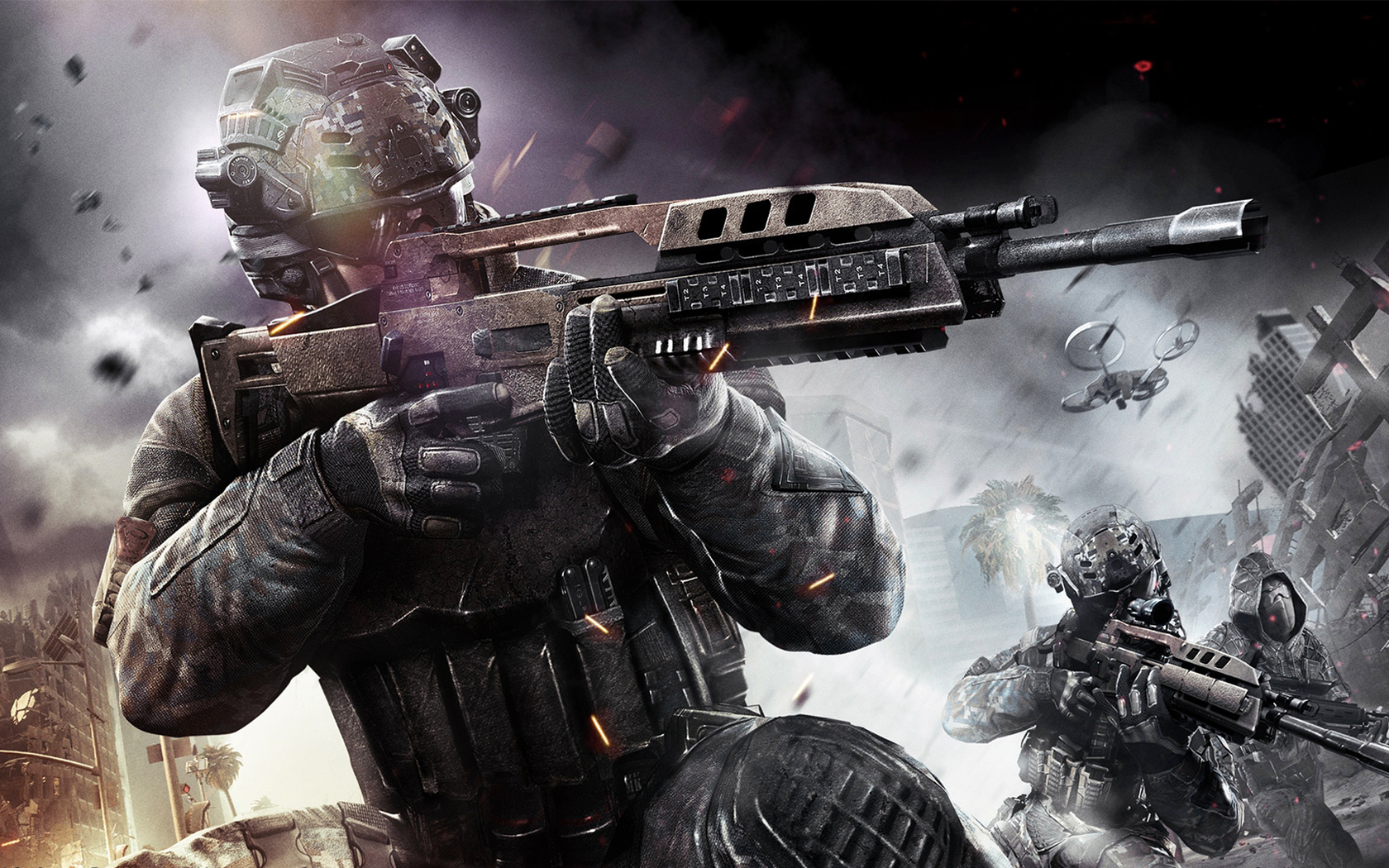 video games guns Call of Duty Call of Duty: Black Ops