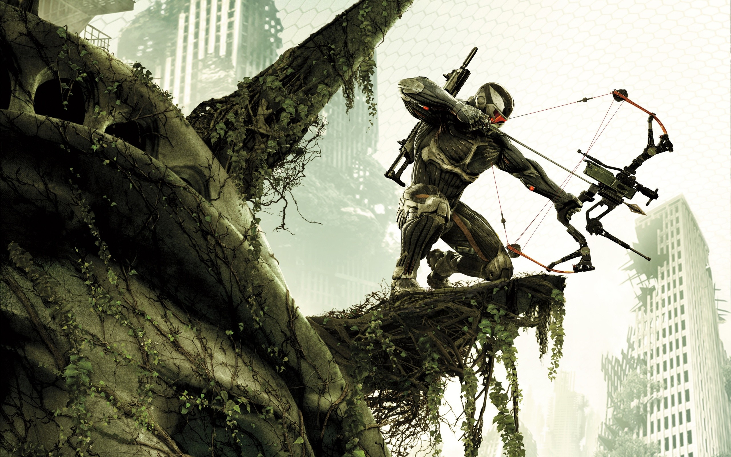 video games guns futuristic fps Future Weapons bow (weapon) Crysis 3