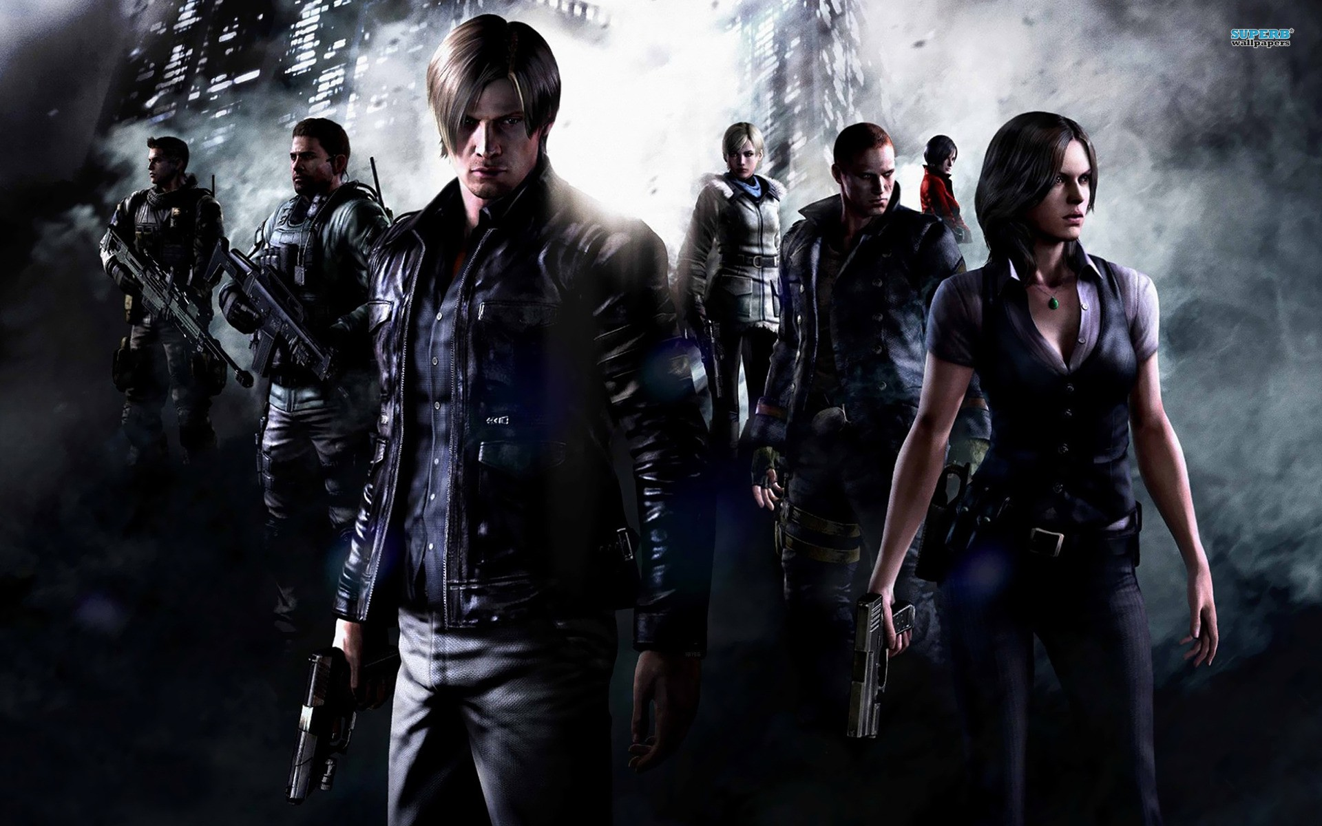 video games Resident Evil posters Resident Evil 6 screens