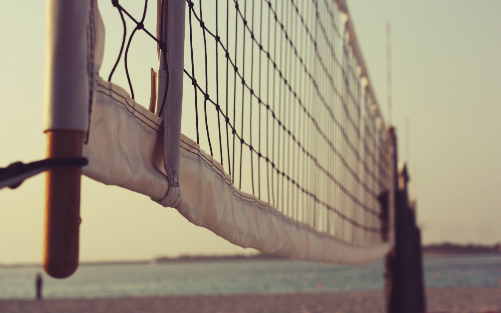 Volleyball Net Summer Beach