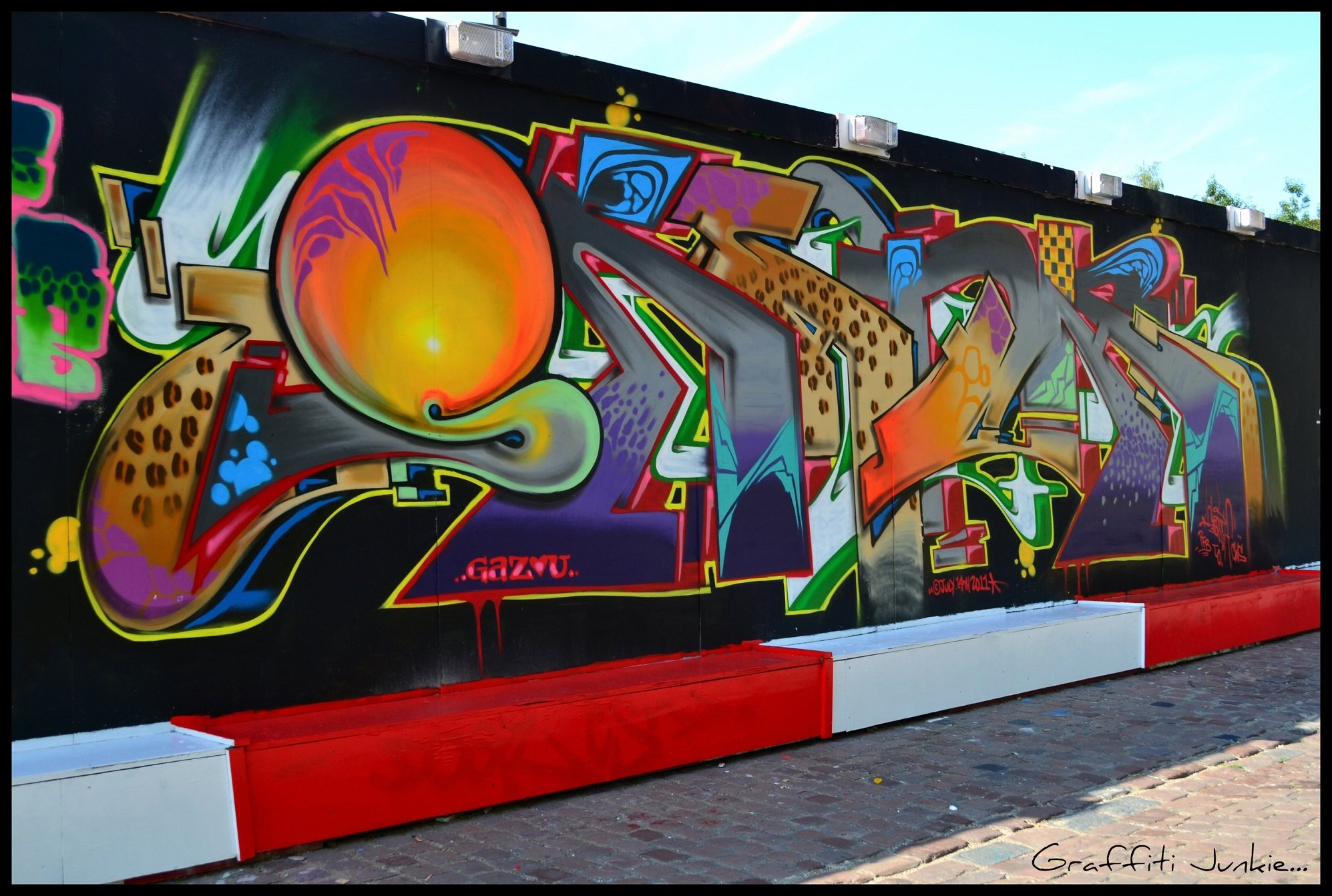 Wall painting Graphiti tags art