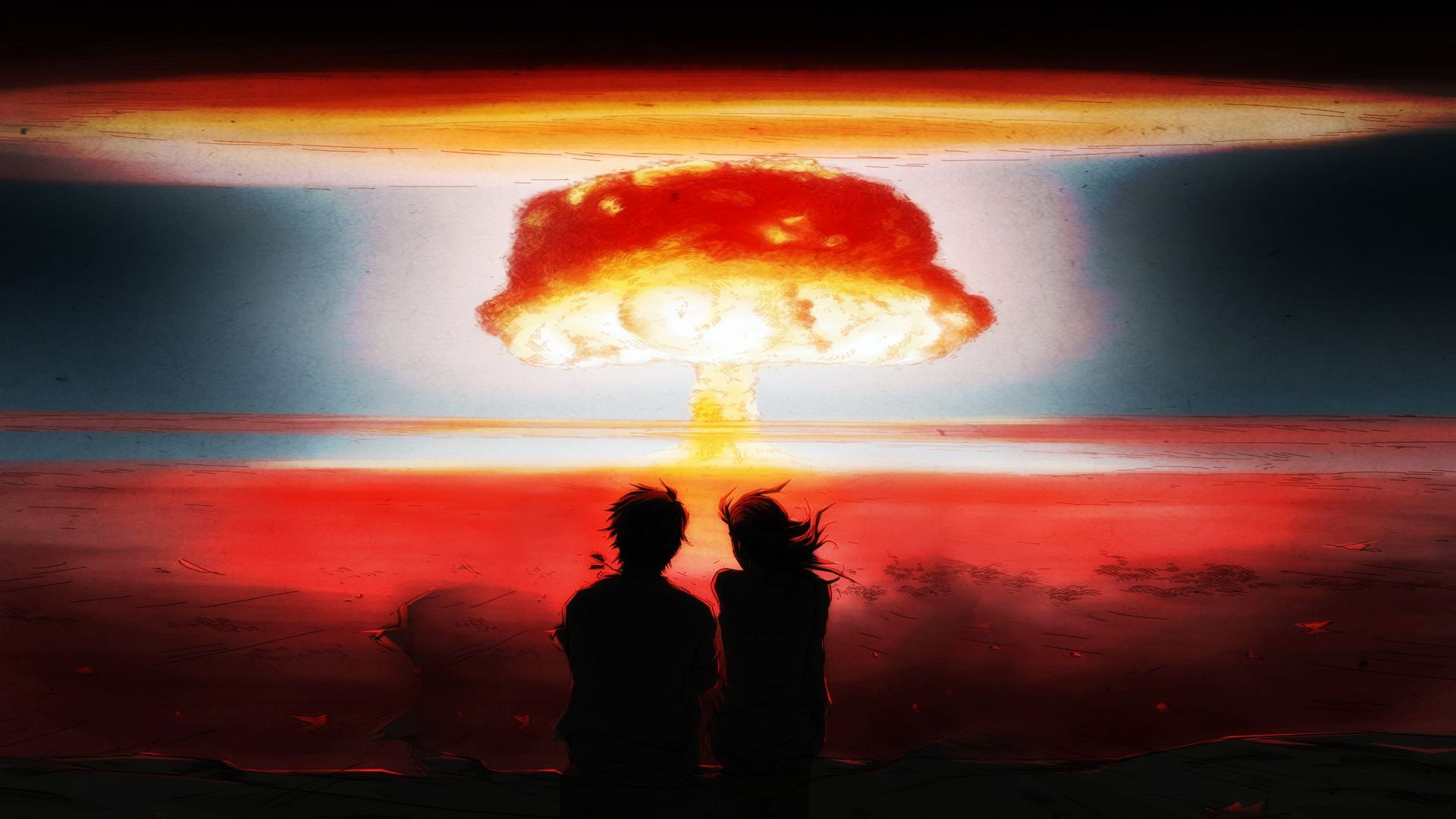 Watching a nuclear explosion