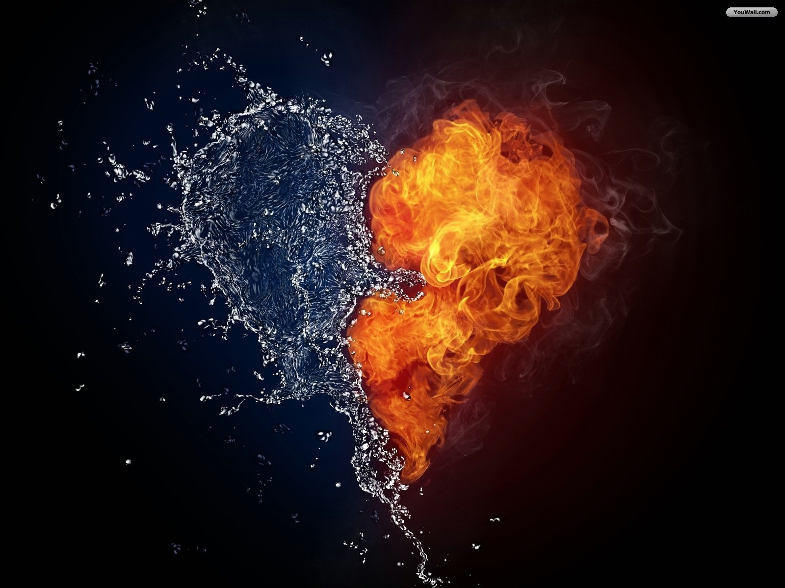 Water and fire love