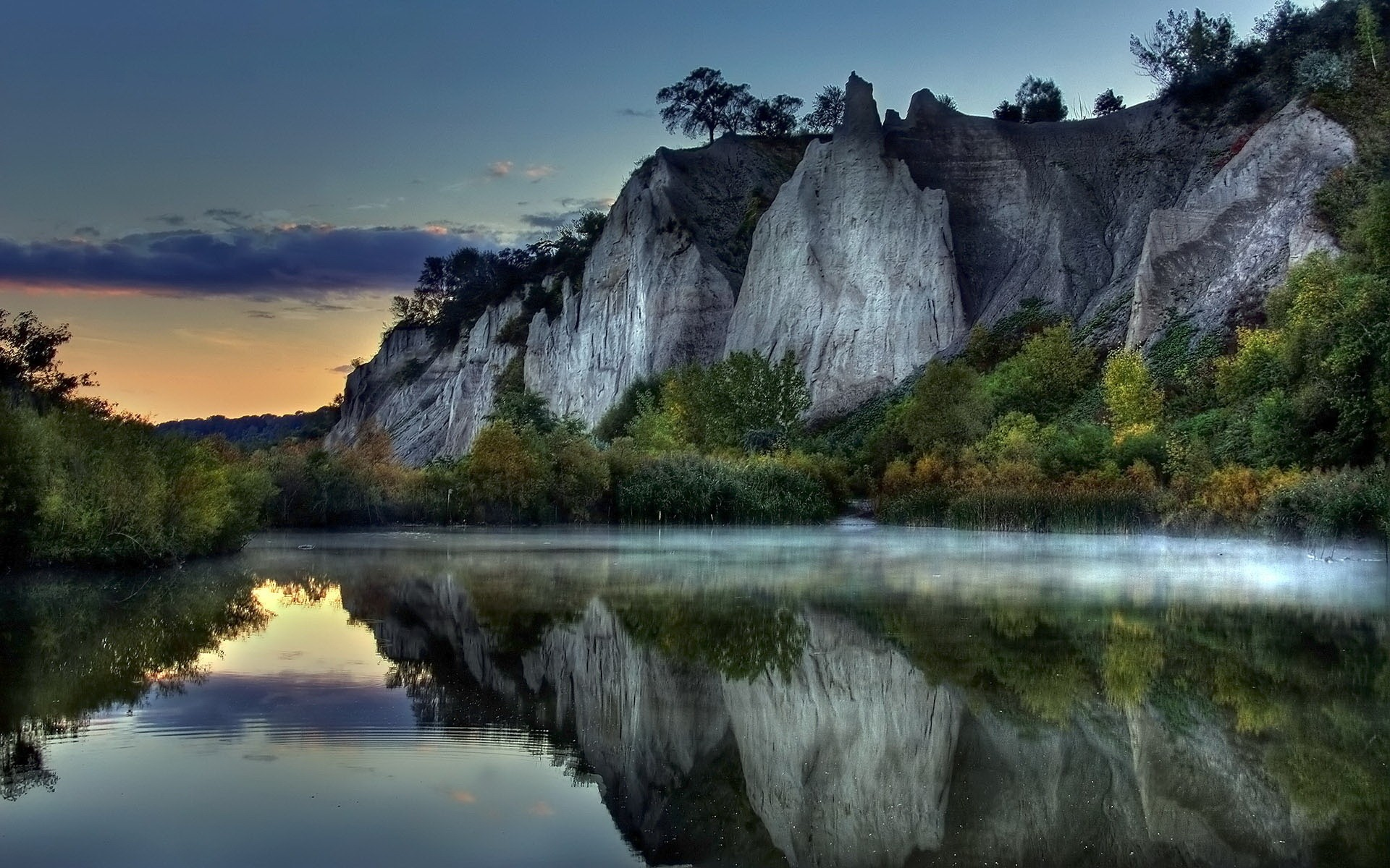 water mountains landscapes nature