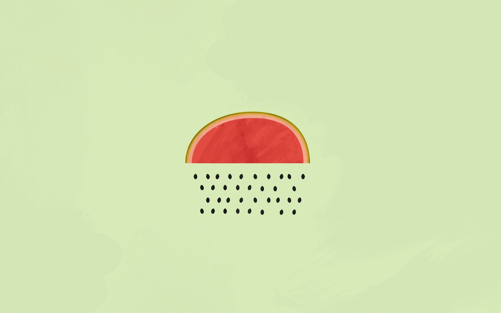 WATERMELON melon fruit red bokeh rain minimal minimalism