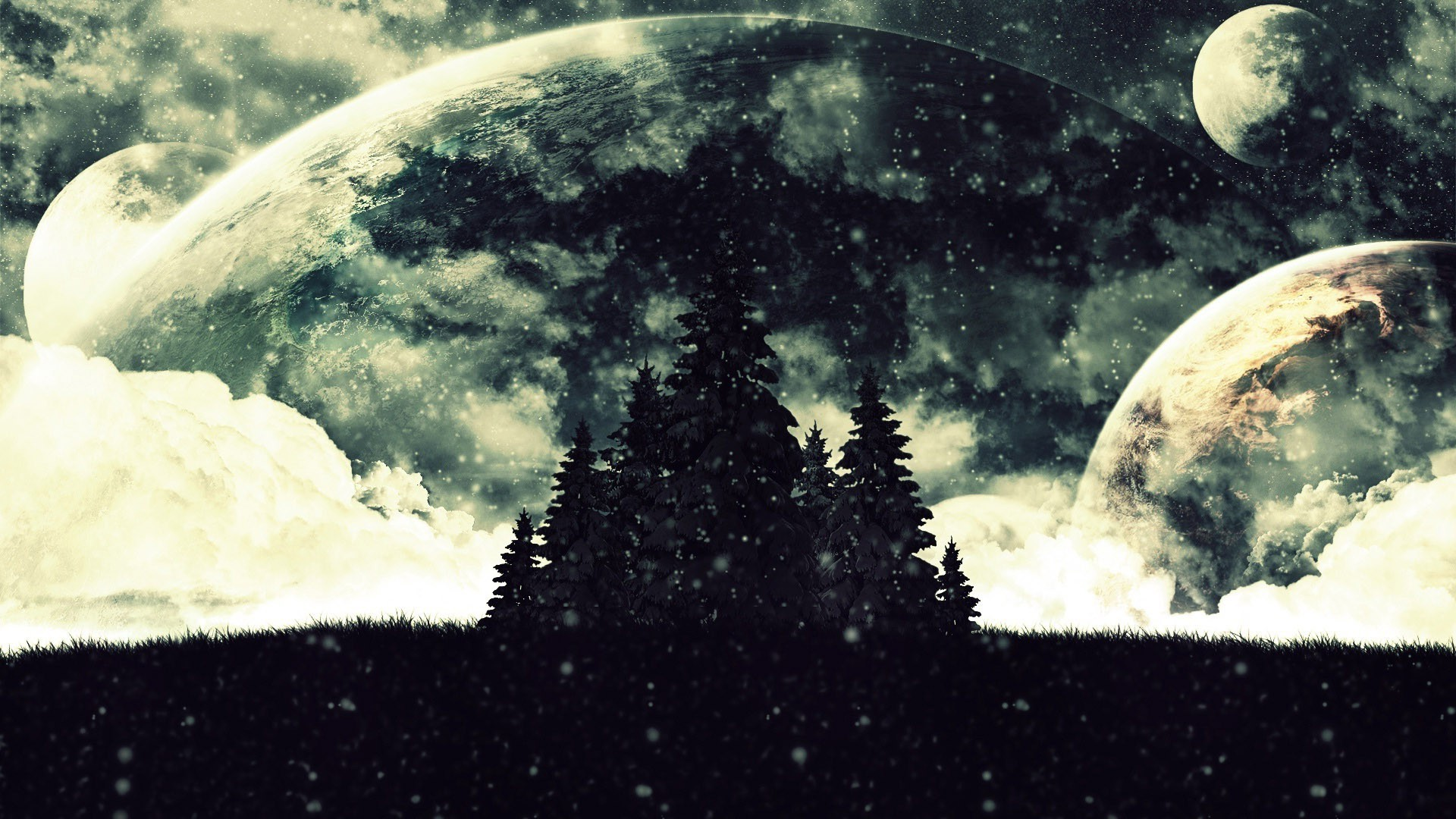 Winter on a distant planet