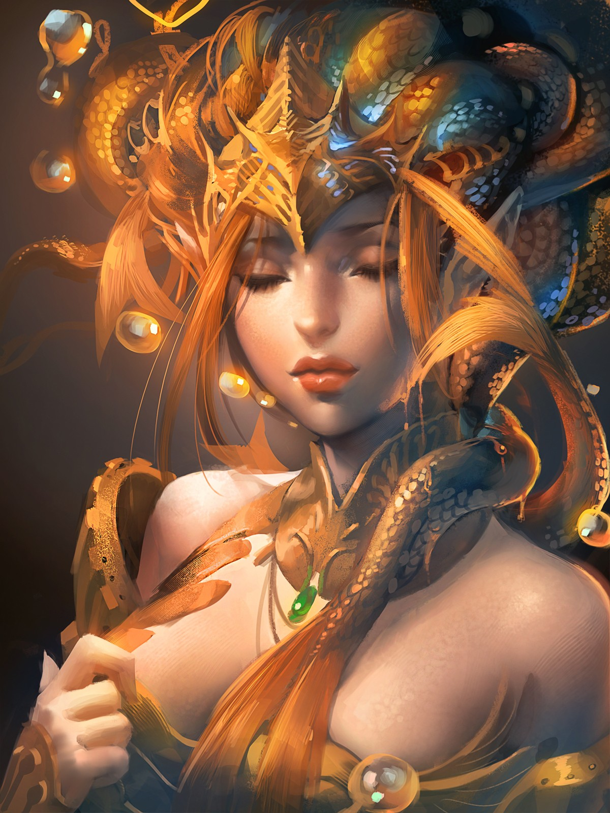 women fantasy art artwork