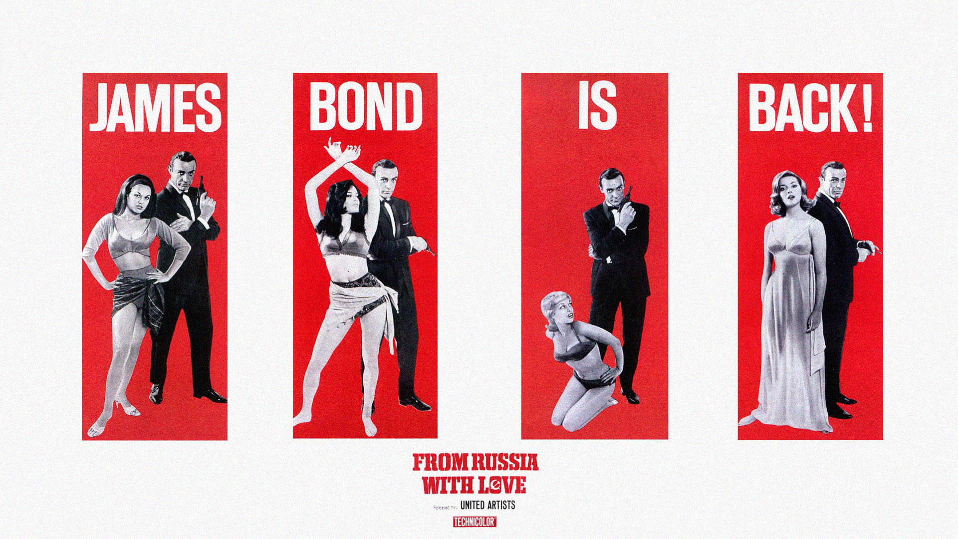 women James Bond Sean Connery From Russia with Love posters